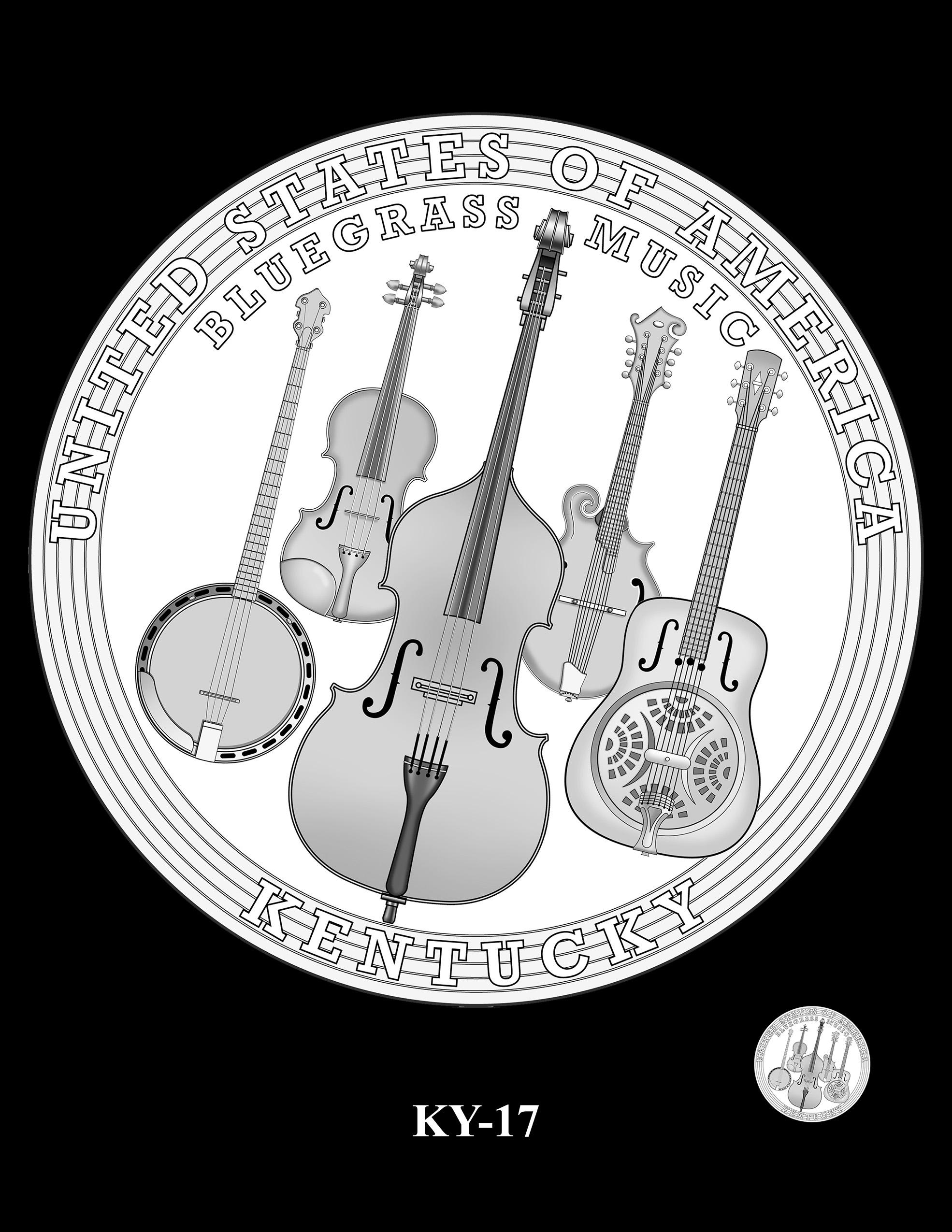 KY-17 -- 2022 American Innovation $1 Coin - Kentucky