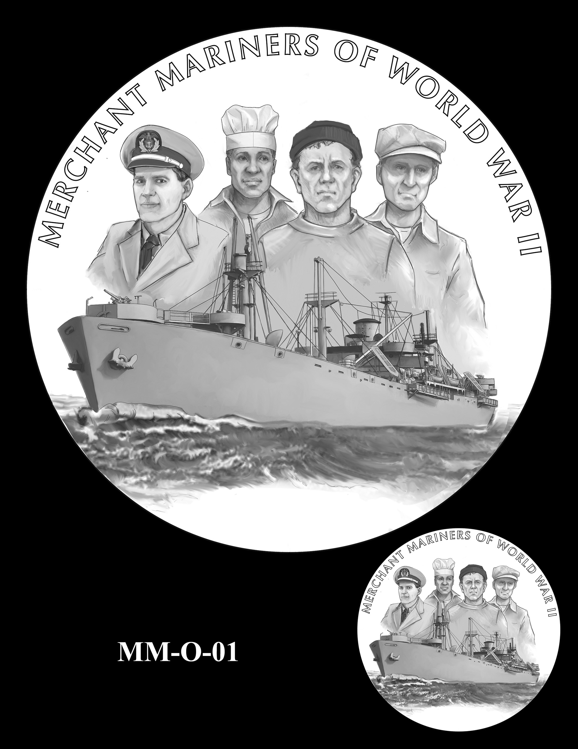 MM-O-01 -- Merchant Mariners of World War II Congressional Gold Medal
