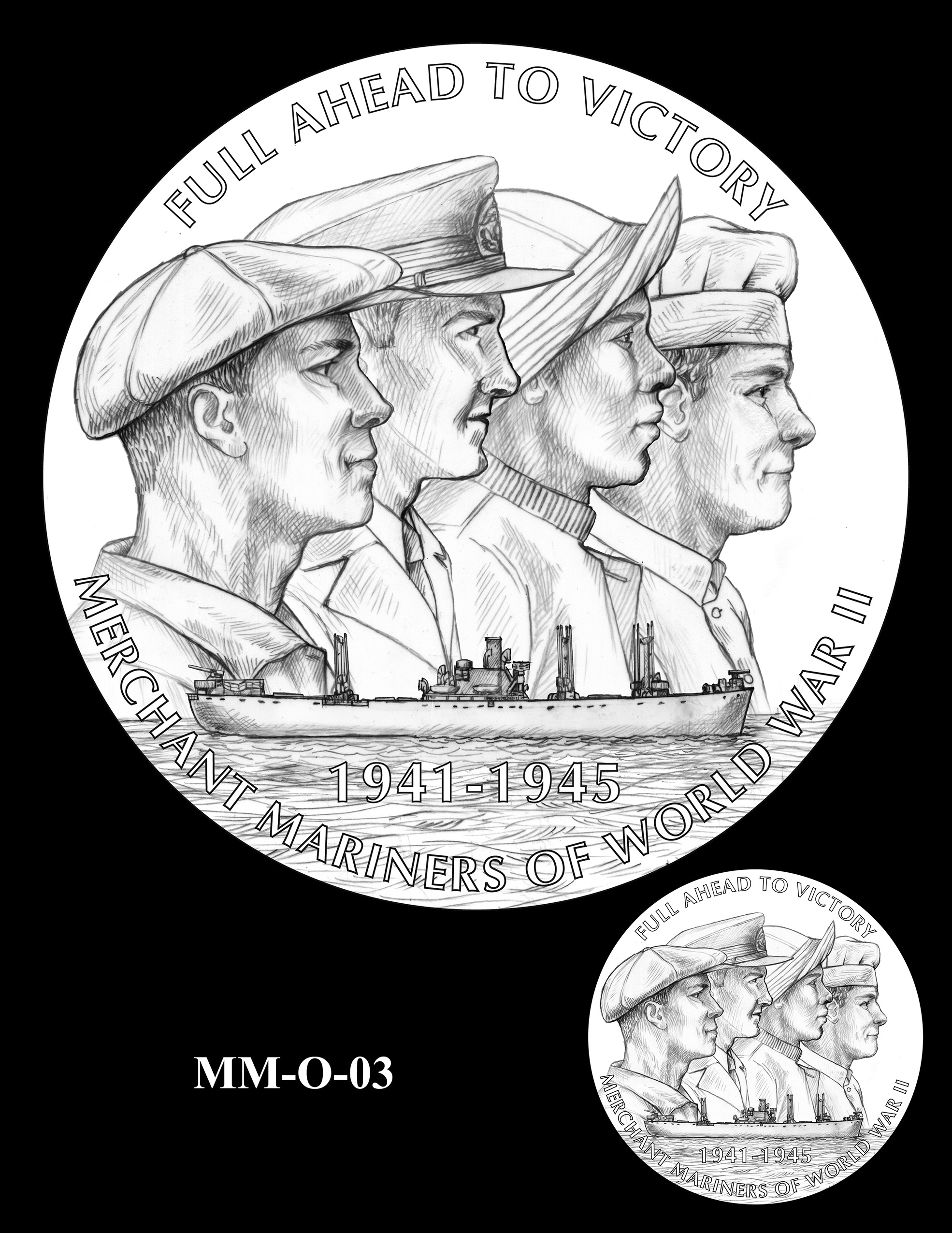 MM-O-03 -- Merchant Mariners of World War II Congressional Gold Medal