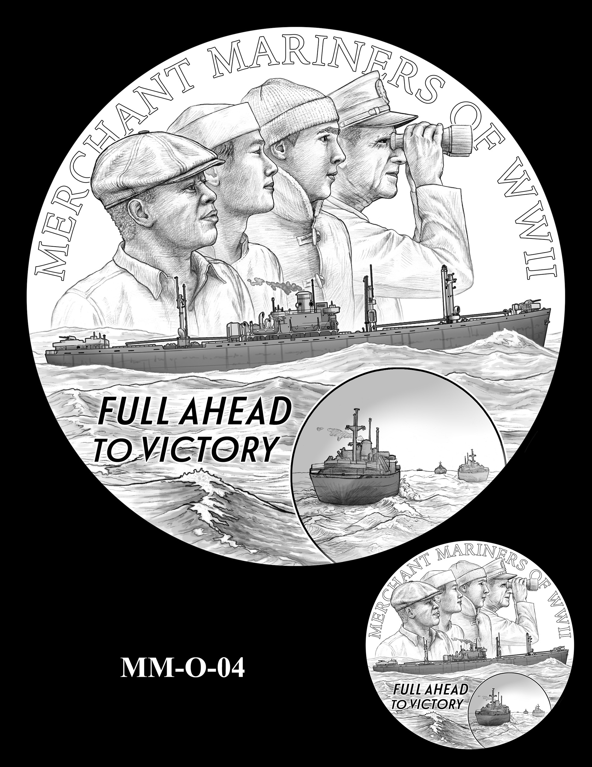 MM-O-04 -- Merchant Mariners of World War II Congressional Gold Medal