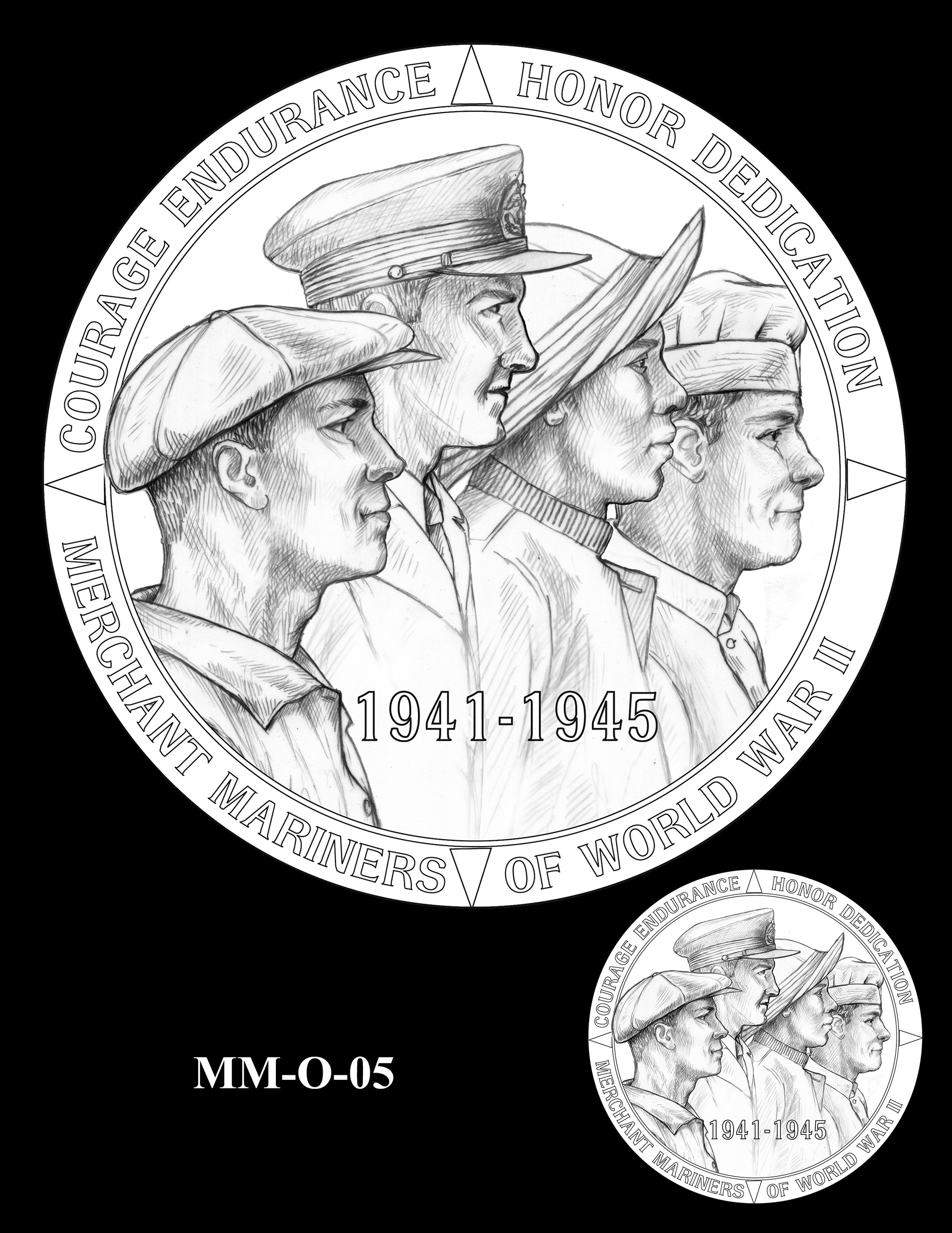 MM-O-05 -- Merchant Mariners of World War II Congressional Gold Medal