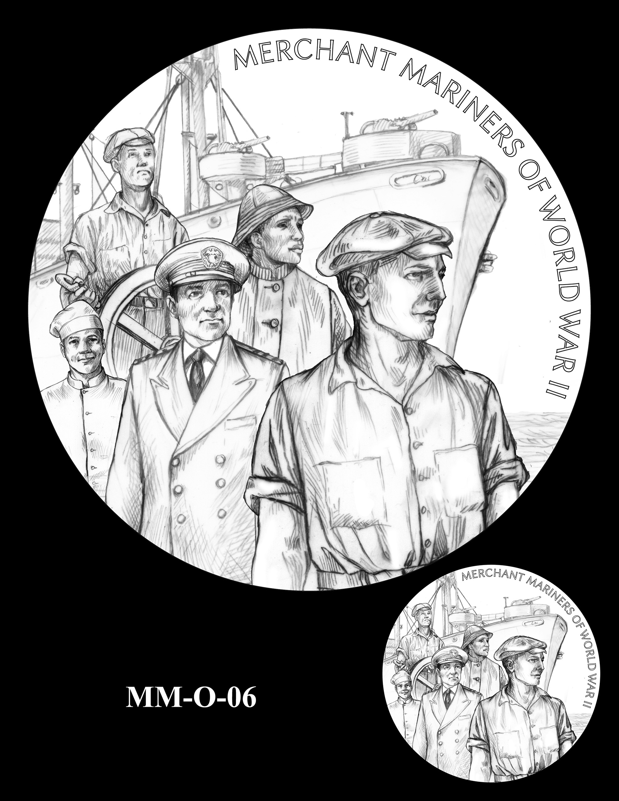 MM-O-06 -- Merchant Mariners of World War II Congressional Gold Medal