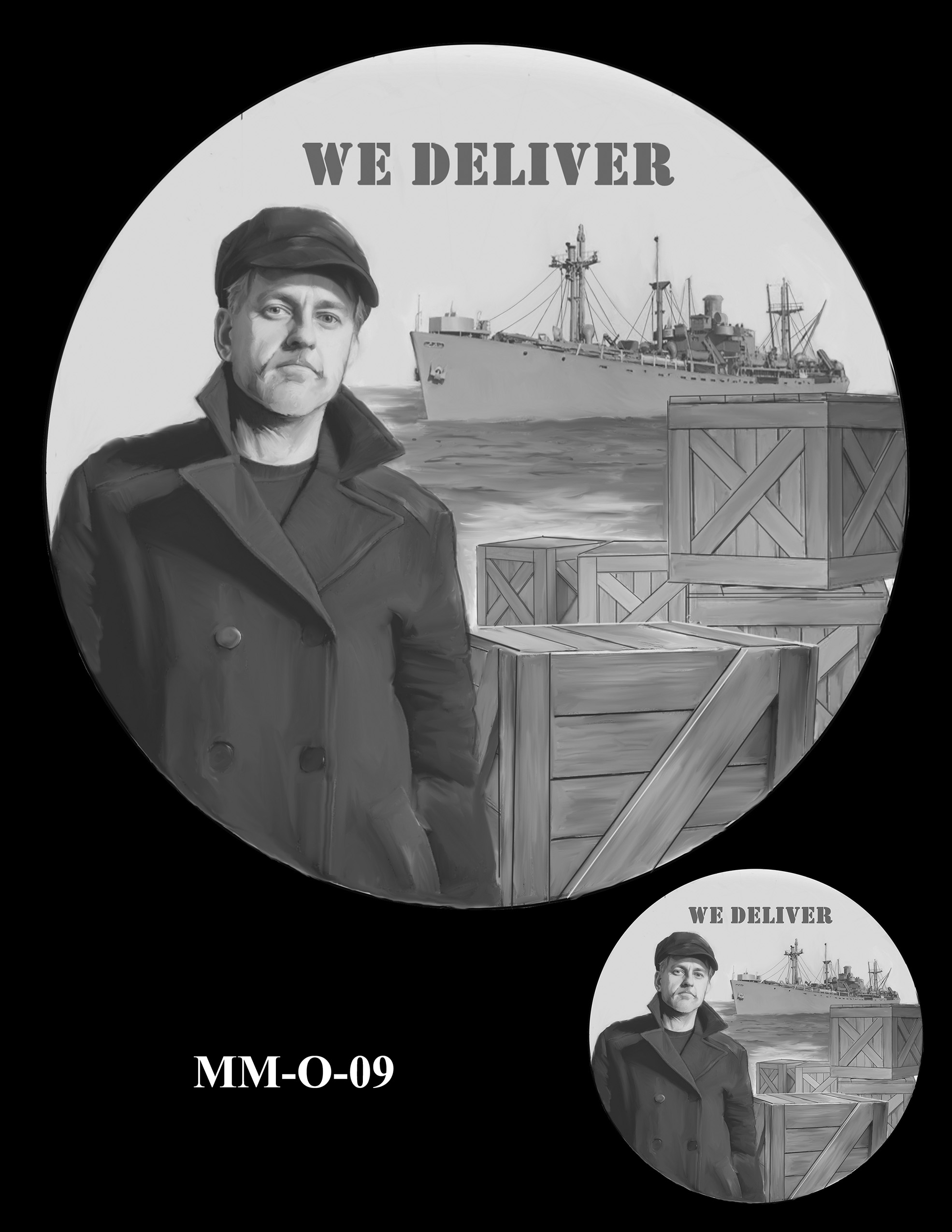 MM-O-09 -- Merchant Mariners of World War II Congressional Gold Medal