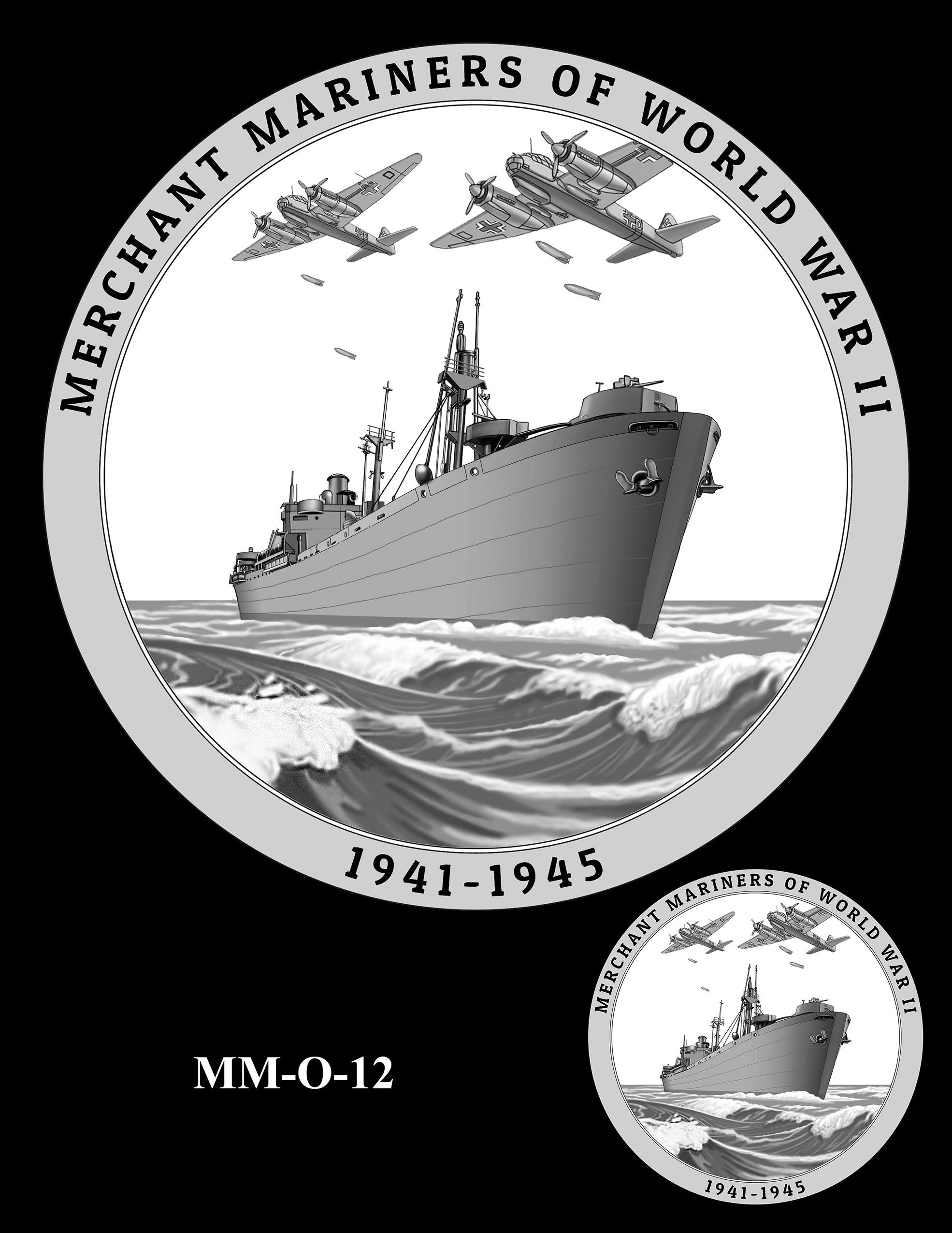 MM-O-12 -- Merchant Mariners of World War II Congressional Gold Medal