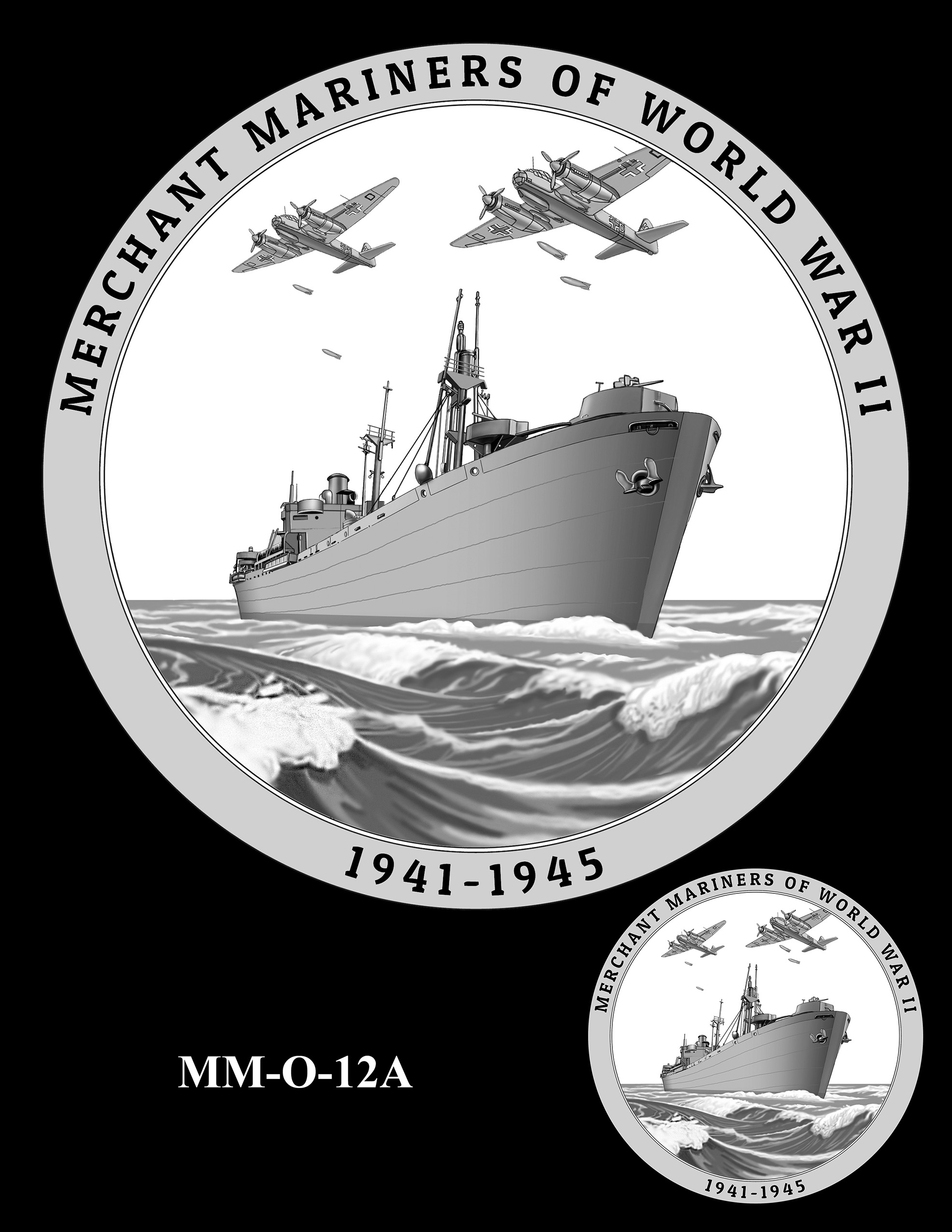 MM-O-12A -- Merchant Mariners of World War II Congressional Gold Medal
