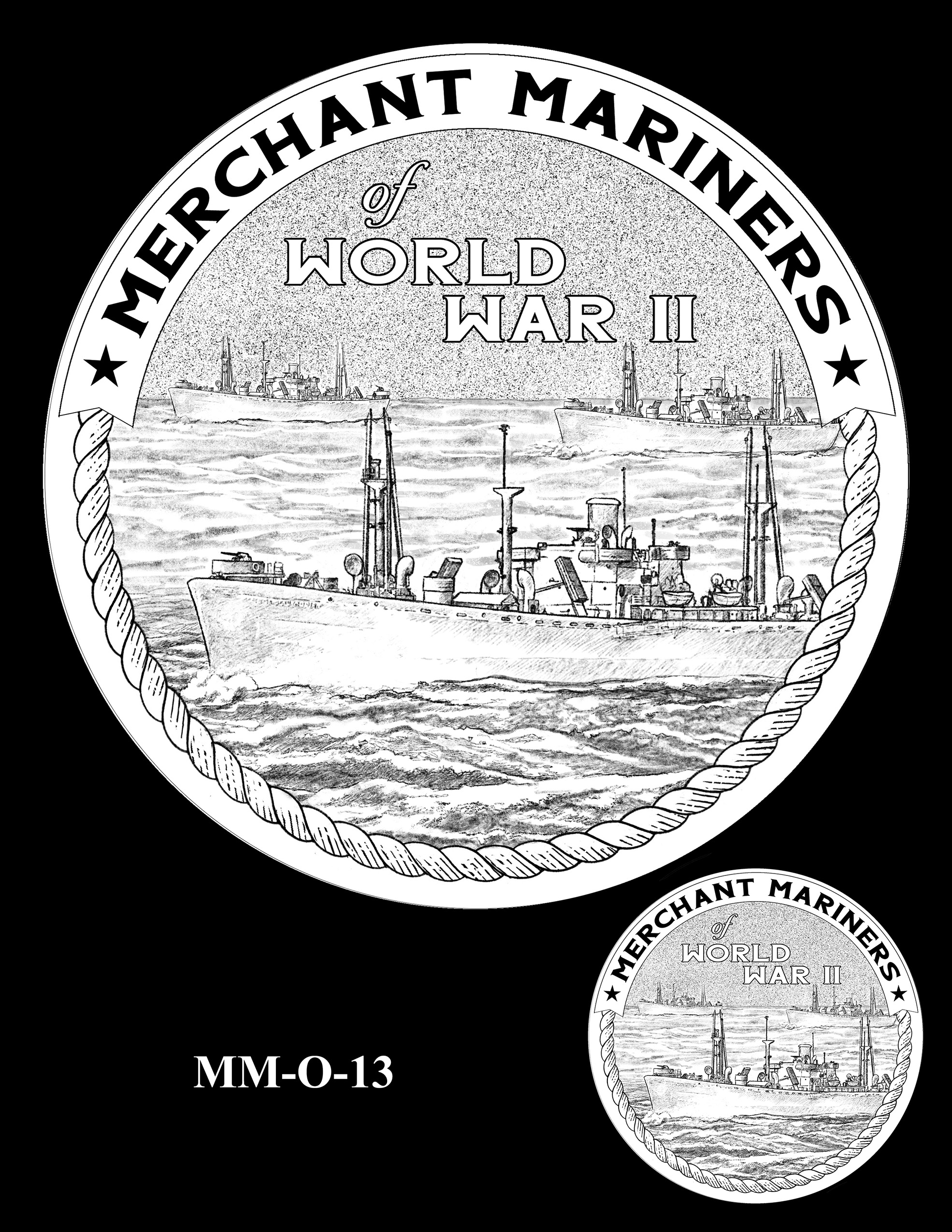 MM-O-13 -- Merchant Mariners of World War II Congressional Gold Medal