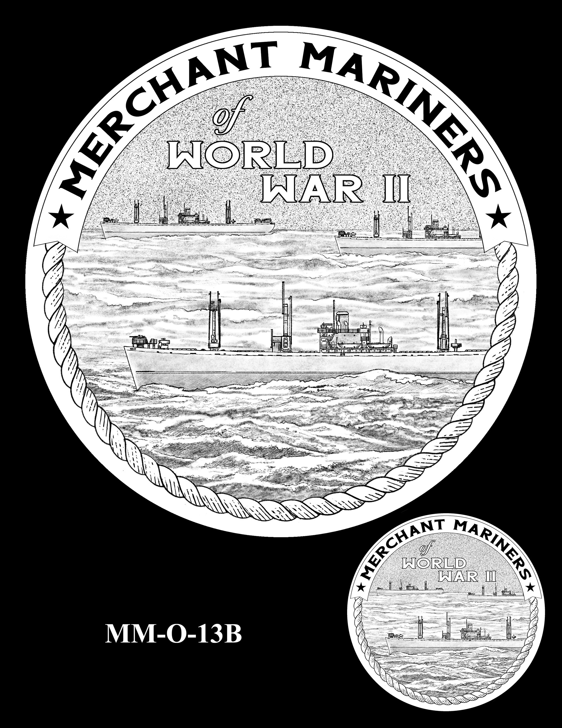 MM-O-13B -- Merchant Mariners of World War II Congressional Gold Medal