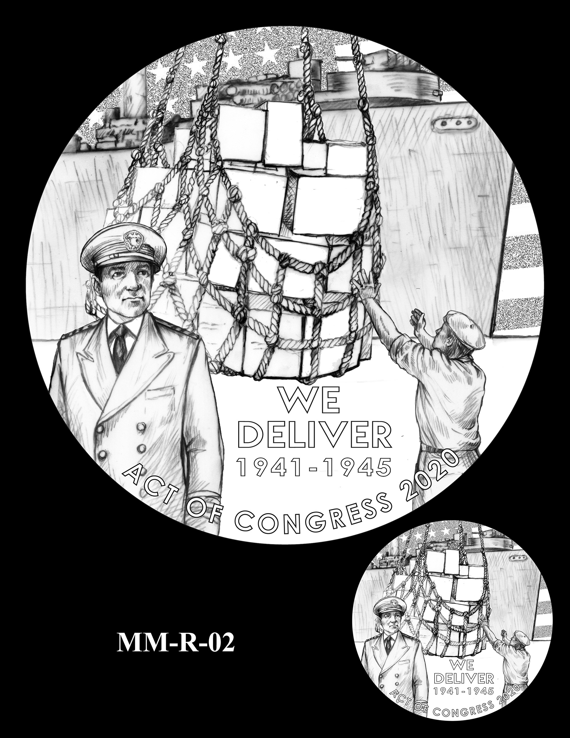 MM-R-02 -- Merchant Mariners of World War II Congressional Gold Medal