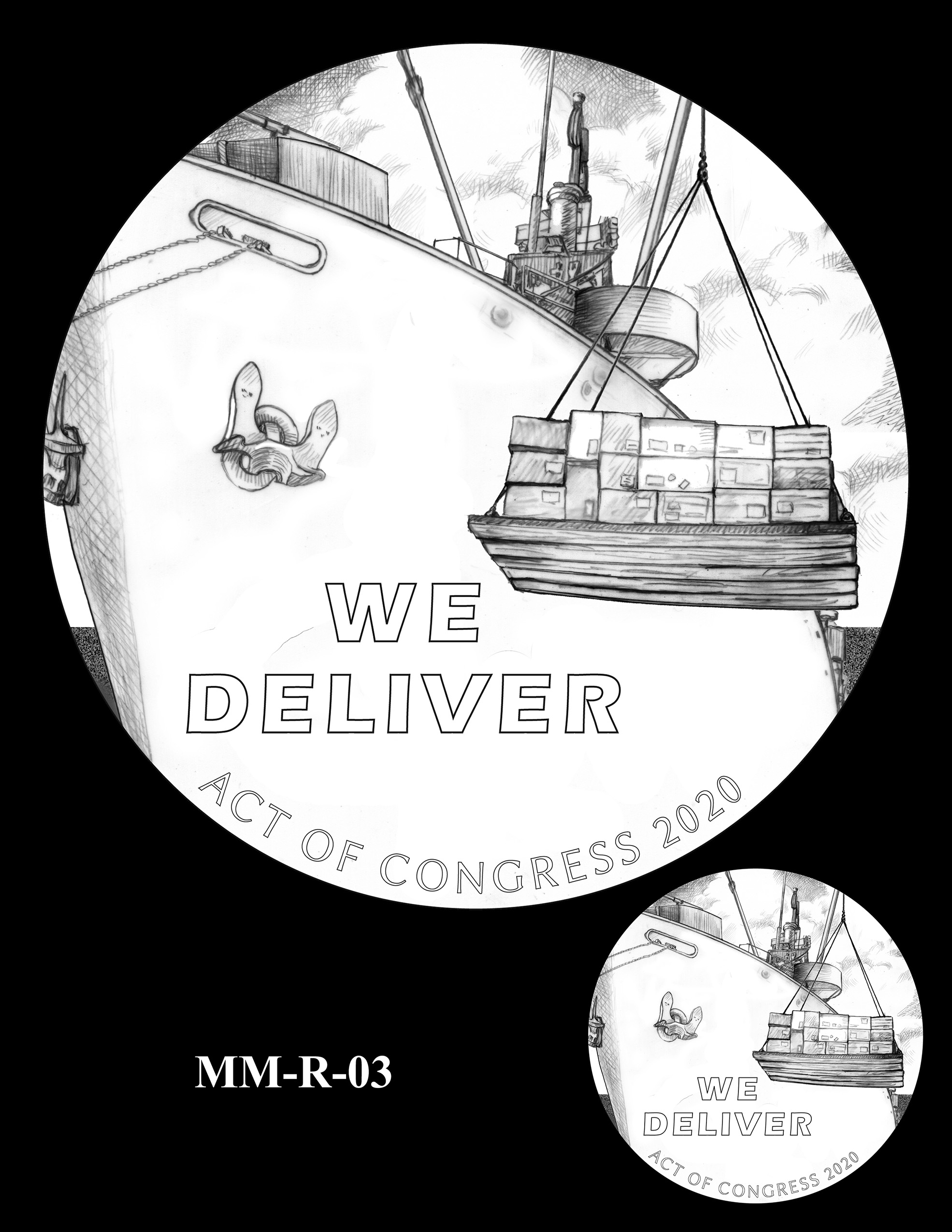 MM-R-03 -- Merchant Mariners of World War II Congressional Gold Medal