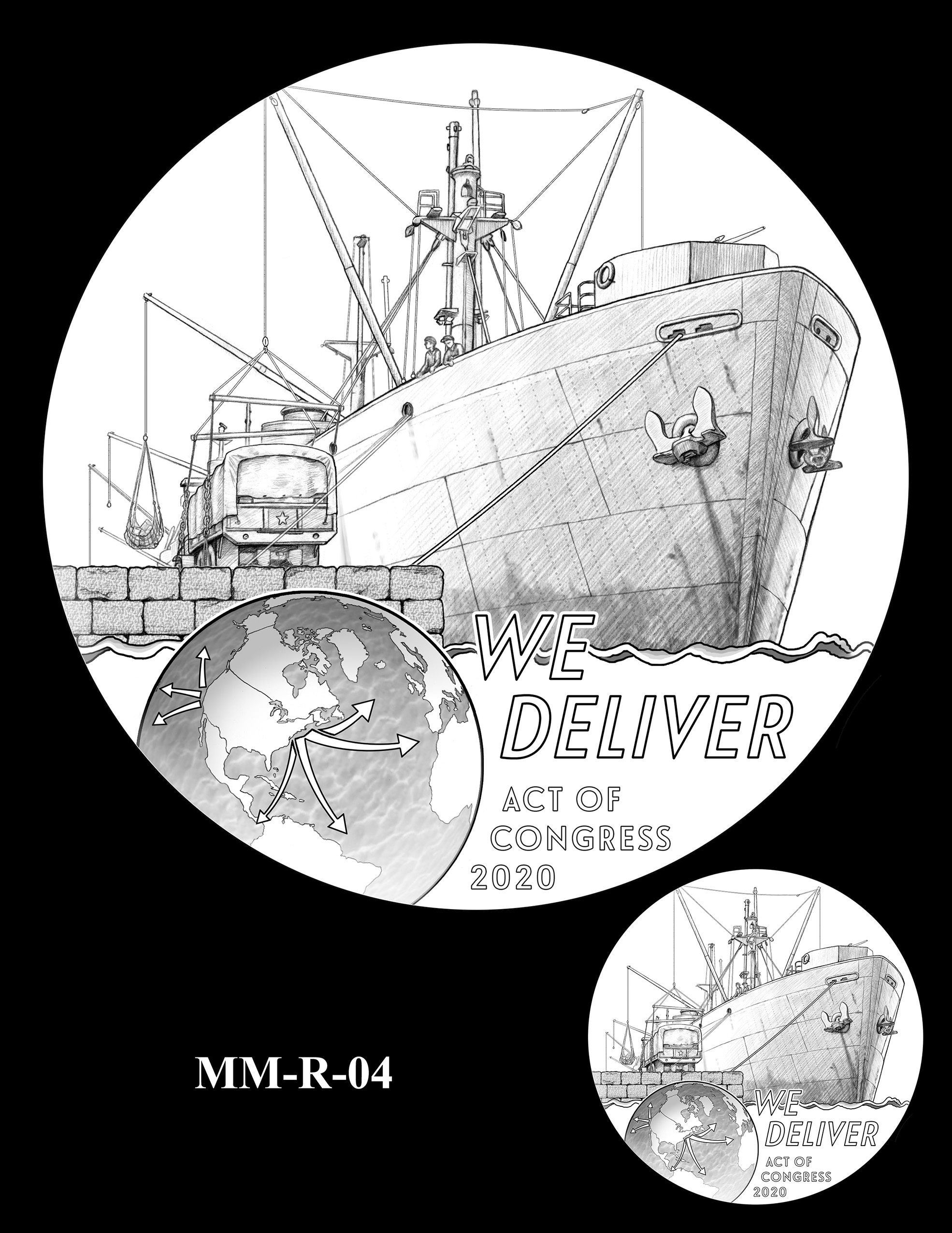 MM-R-04 -- Merchant Mariners of World War II Congressional Gold Medal