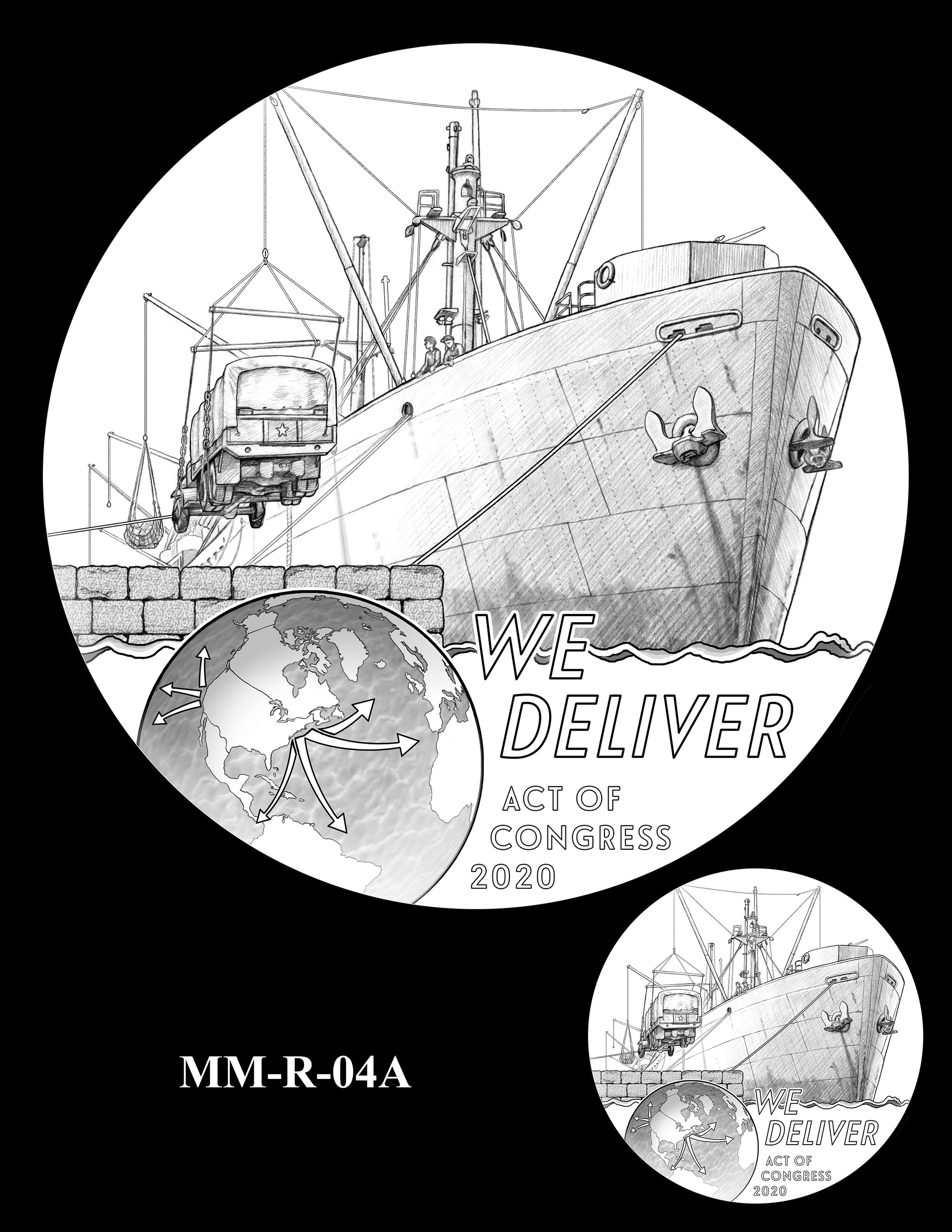 MM-R-04A -- Merchant Mariners of World War II Congressional Gold Medal