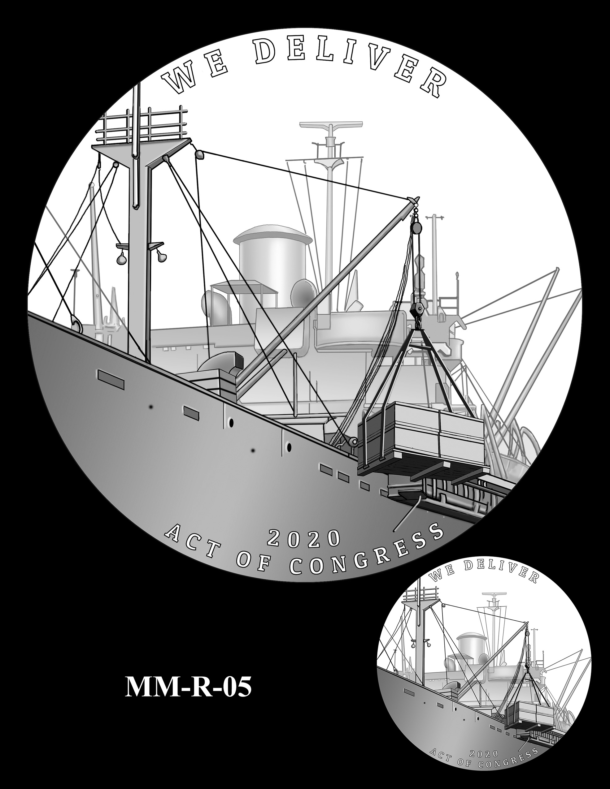 MM-R-05 -- Merchant Mariners of World War II Congressional Gold Medal