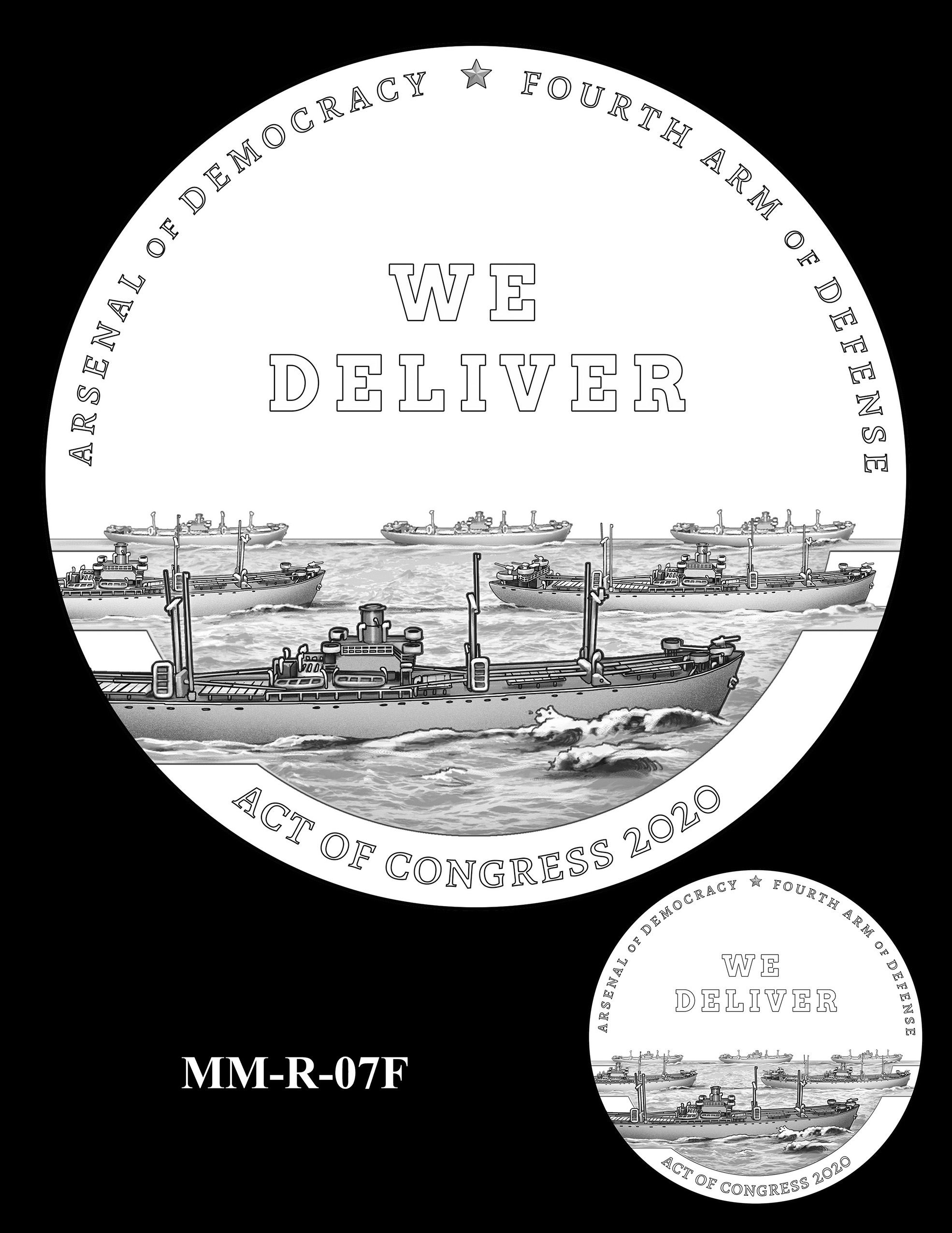 MM-R-07F -- Merchant Mariners of World War II Congressional Gold Medal