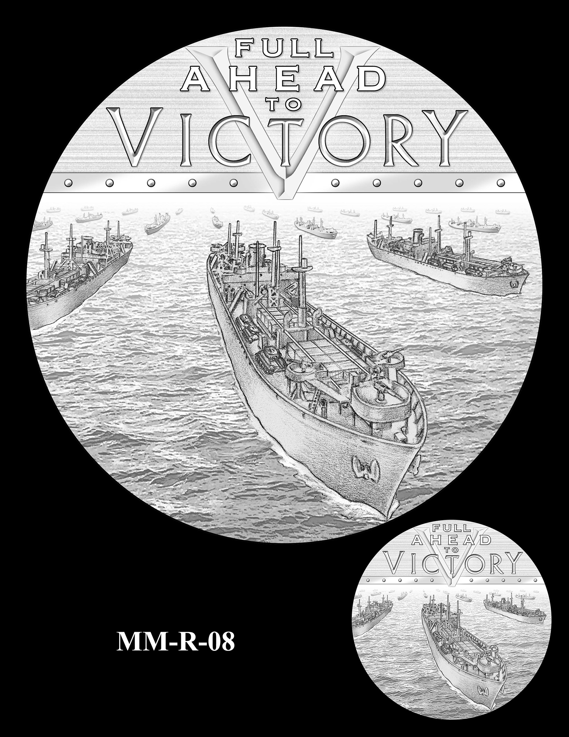 MM-R-08 -- Merchant Mariners of World War II Congressional Gold Medal