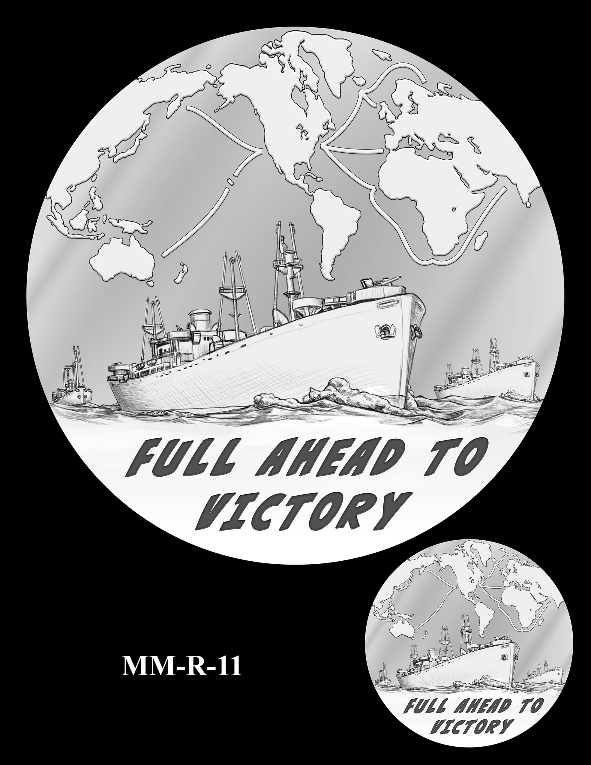 MM-R-11 -- Merchant Mariners of World War II Congressional Gold Medal