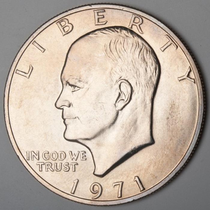 Eisenhower Obverse