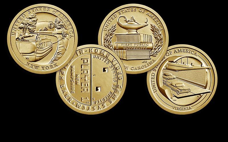 2021 American Innovation $1 Coin reverses