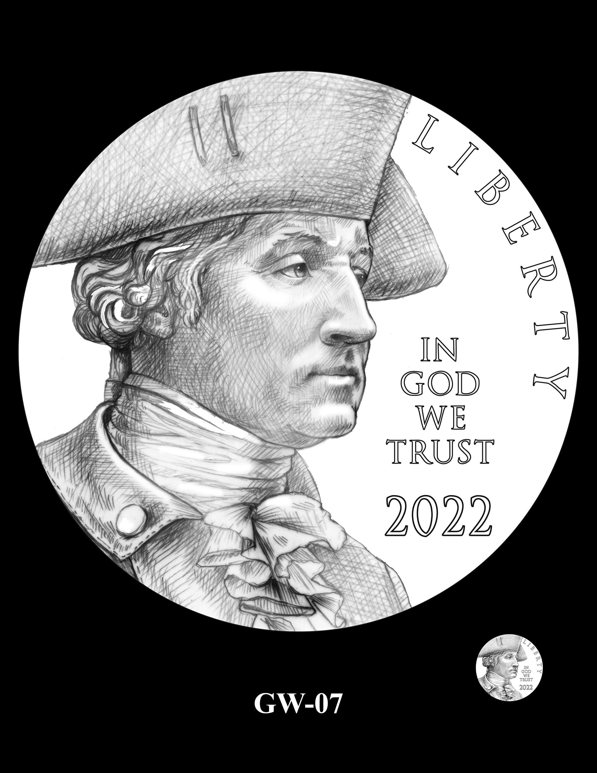 GW-07 -- 2022-2025 American Women Quarters Obverse