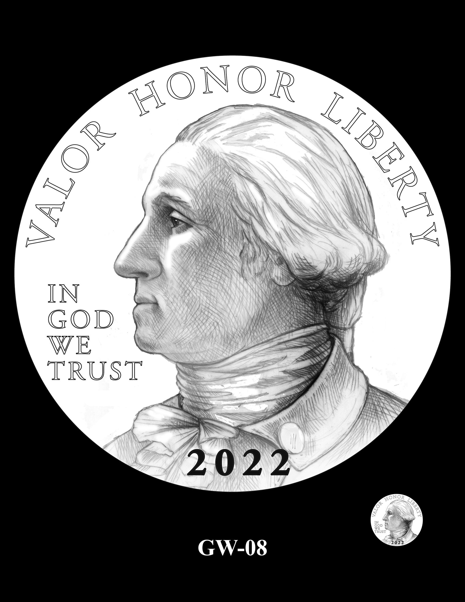 GW-08 -- 2022-2025 American Women Quarters Obverse