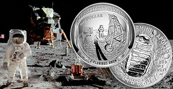 Apollo 11 coin of the year award feature