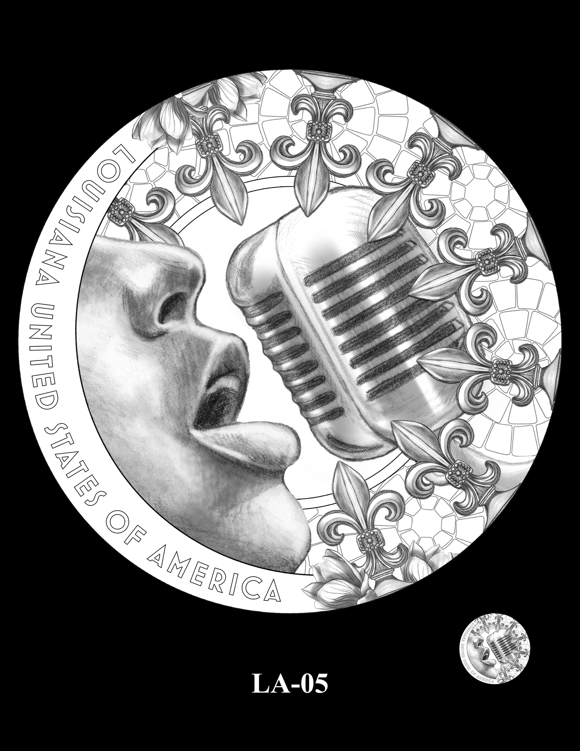 LA-05 -- 2023 American Innovation $1 Coin Program - Louisiana