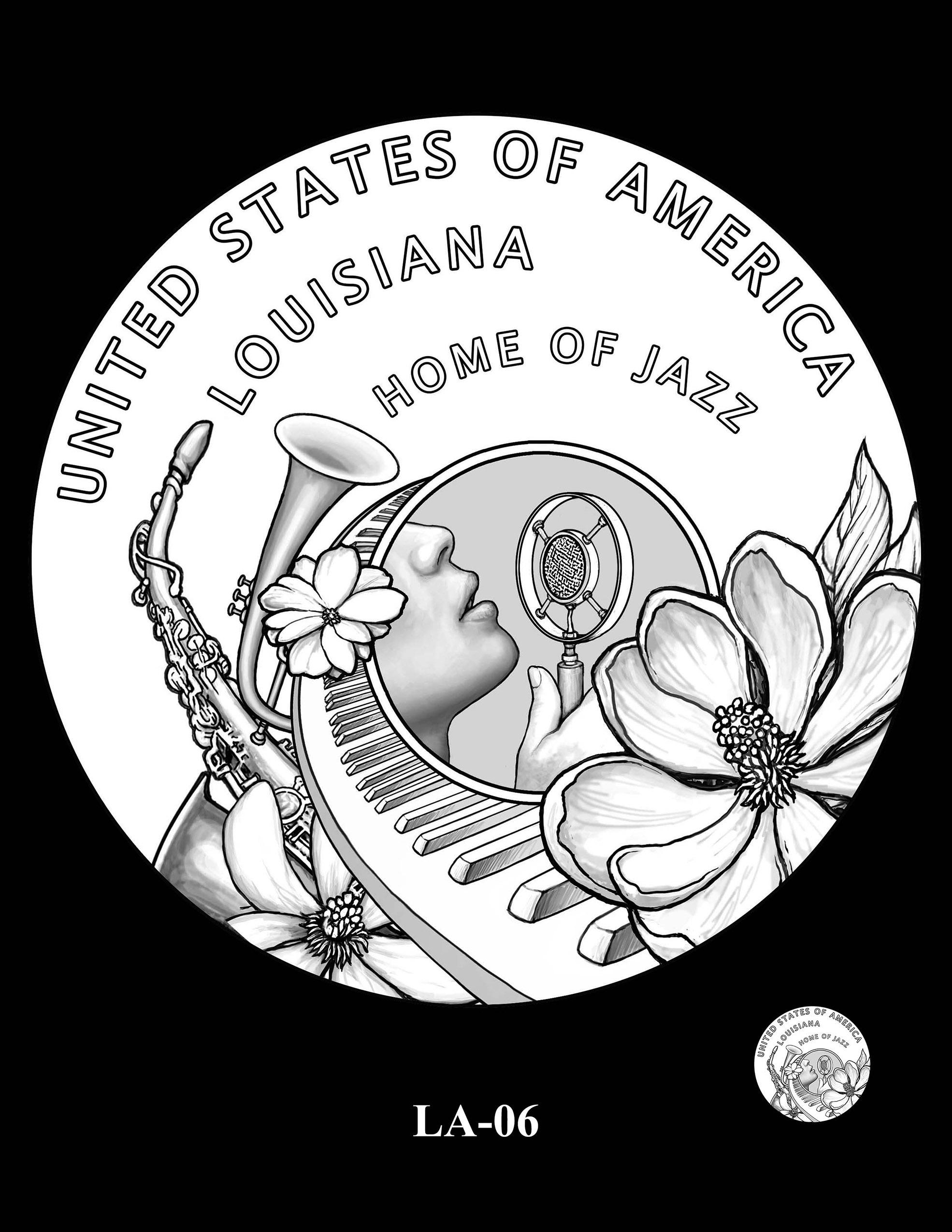 LA-06 -- 2023 American Innovation $1 Coin Program - Louisiana