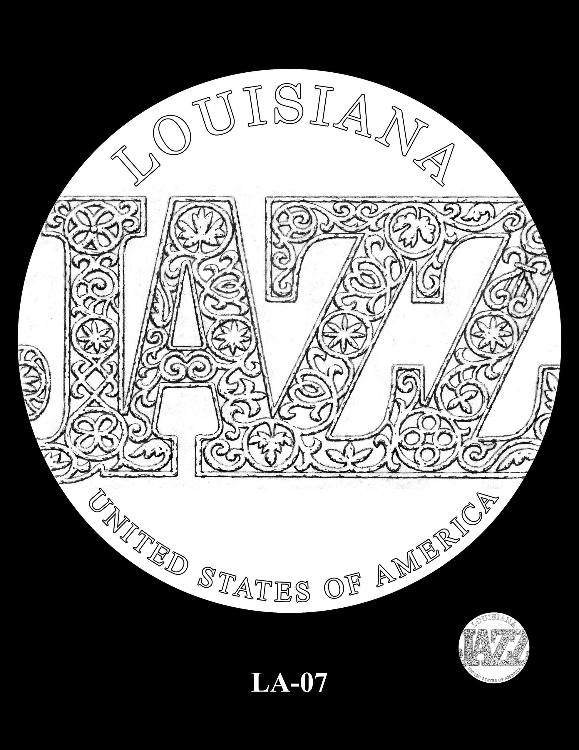LA-07 -- 2023 American Innovation $1 Coin Program - Louisiana
