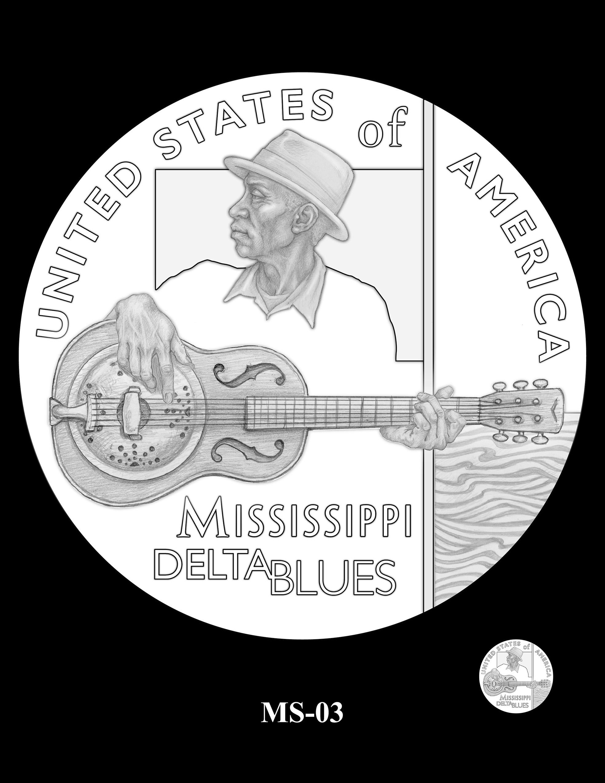 MS-03 -- 2023 American Innovation $1 Coin Program - Mississippi