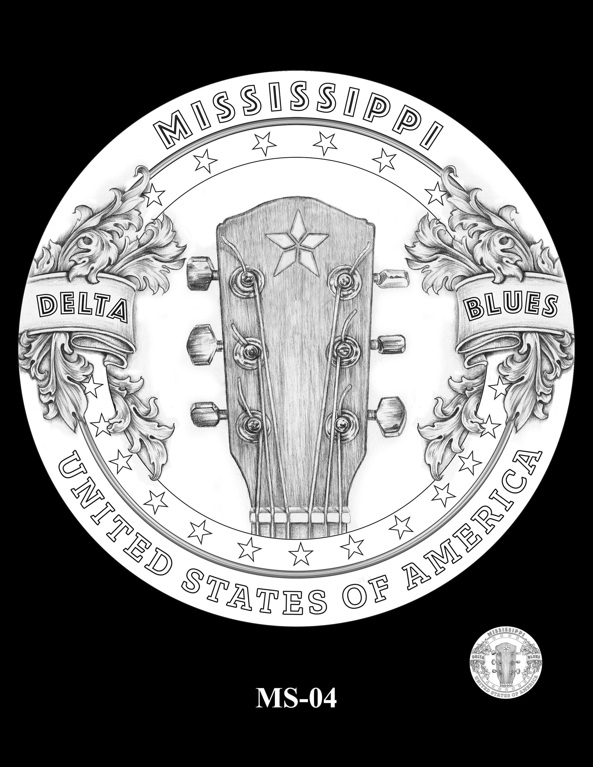 MS-04 -- 2023 American Innovation $1 Coin Program - Mississippi