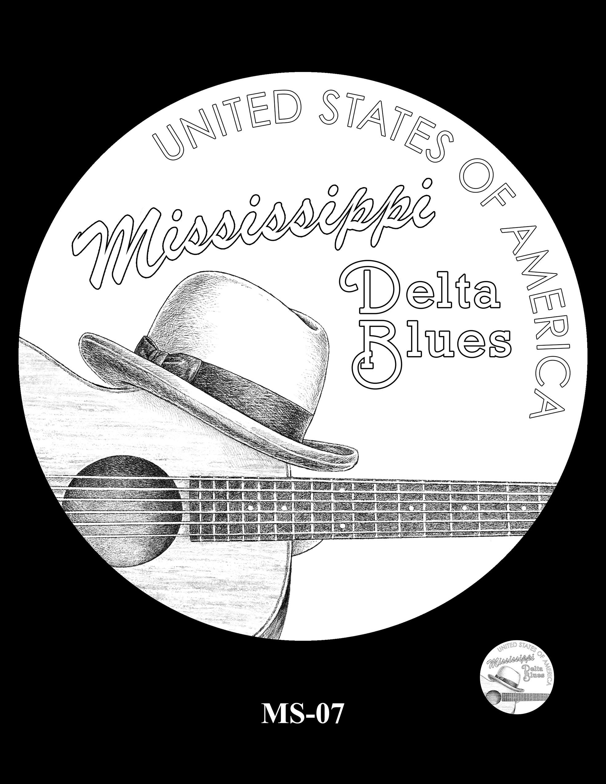 MS-07 -- 2023 American Innovation $1 Coin Program - Mississippi
