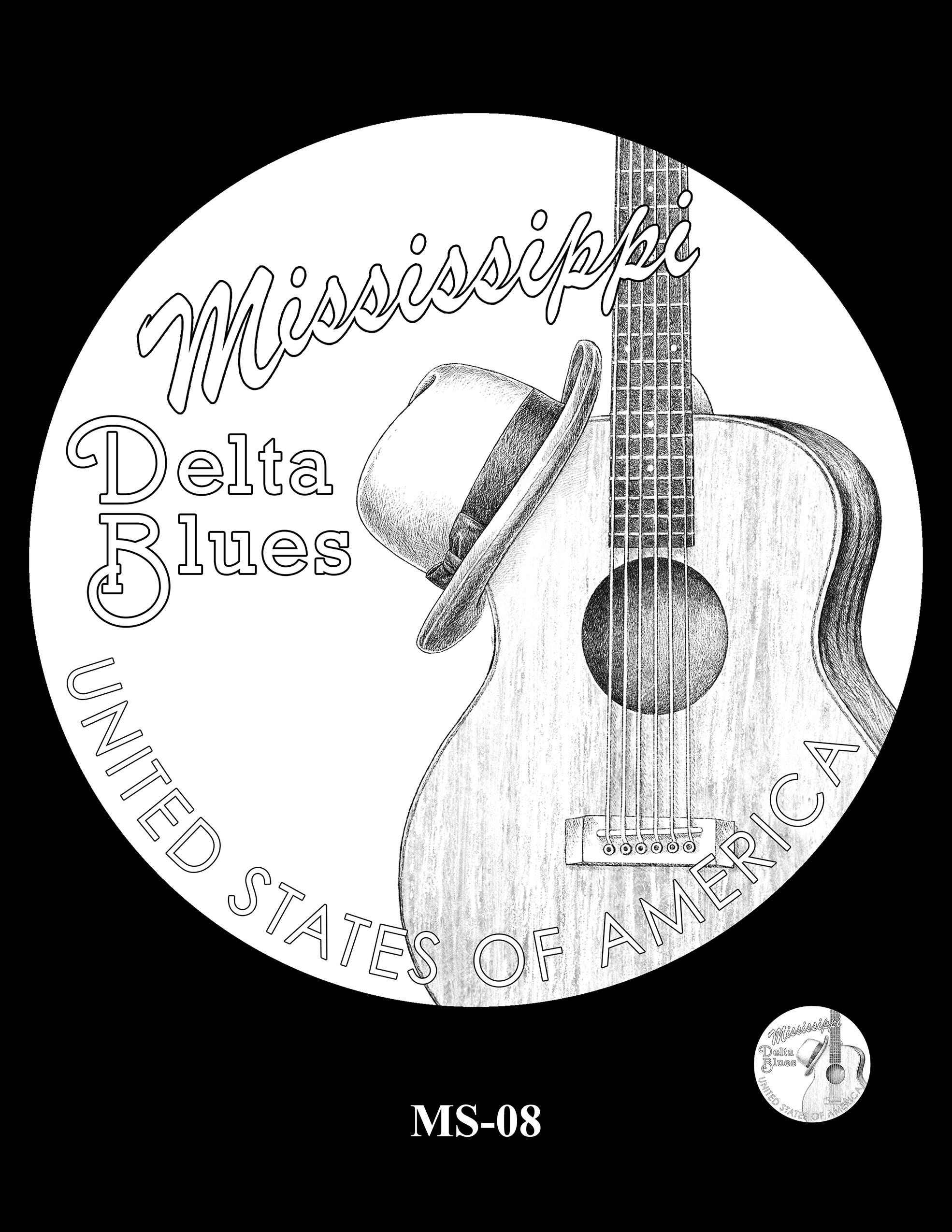 MS-08 -- 2023 American Innovation $1 Coin Program - Mississippi