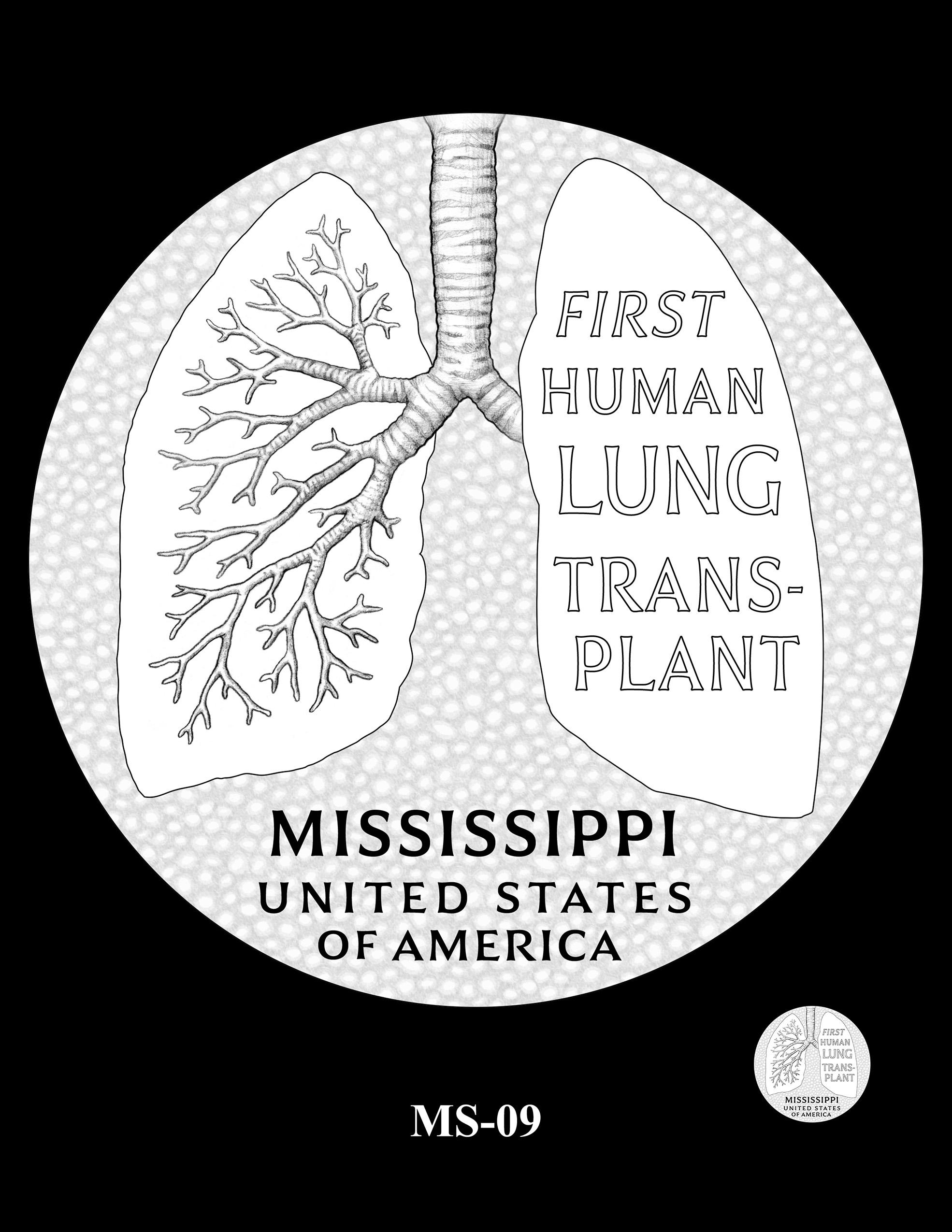 MS-09 -- 2023 American Innovation $1 Coin Program - Mississippi
