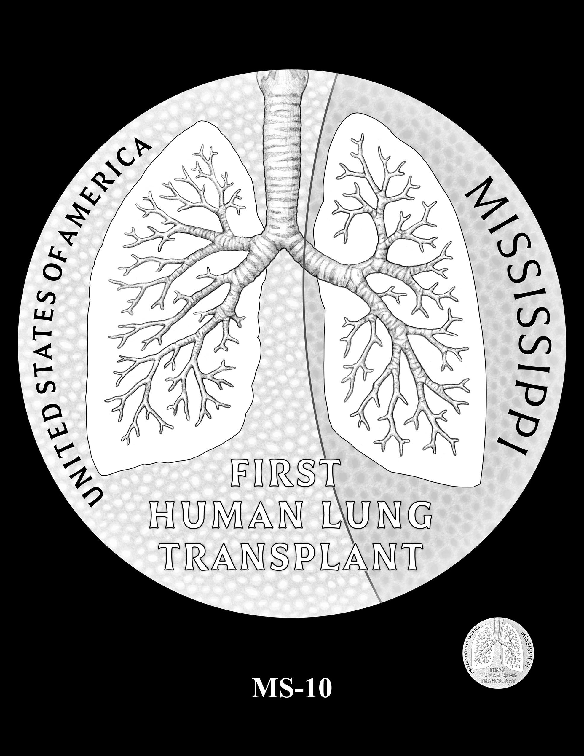 MS-10 -- 2023 American Innovation $1 Coin Program - Mississippi