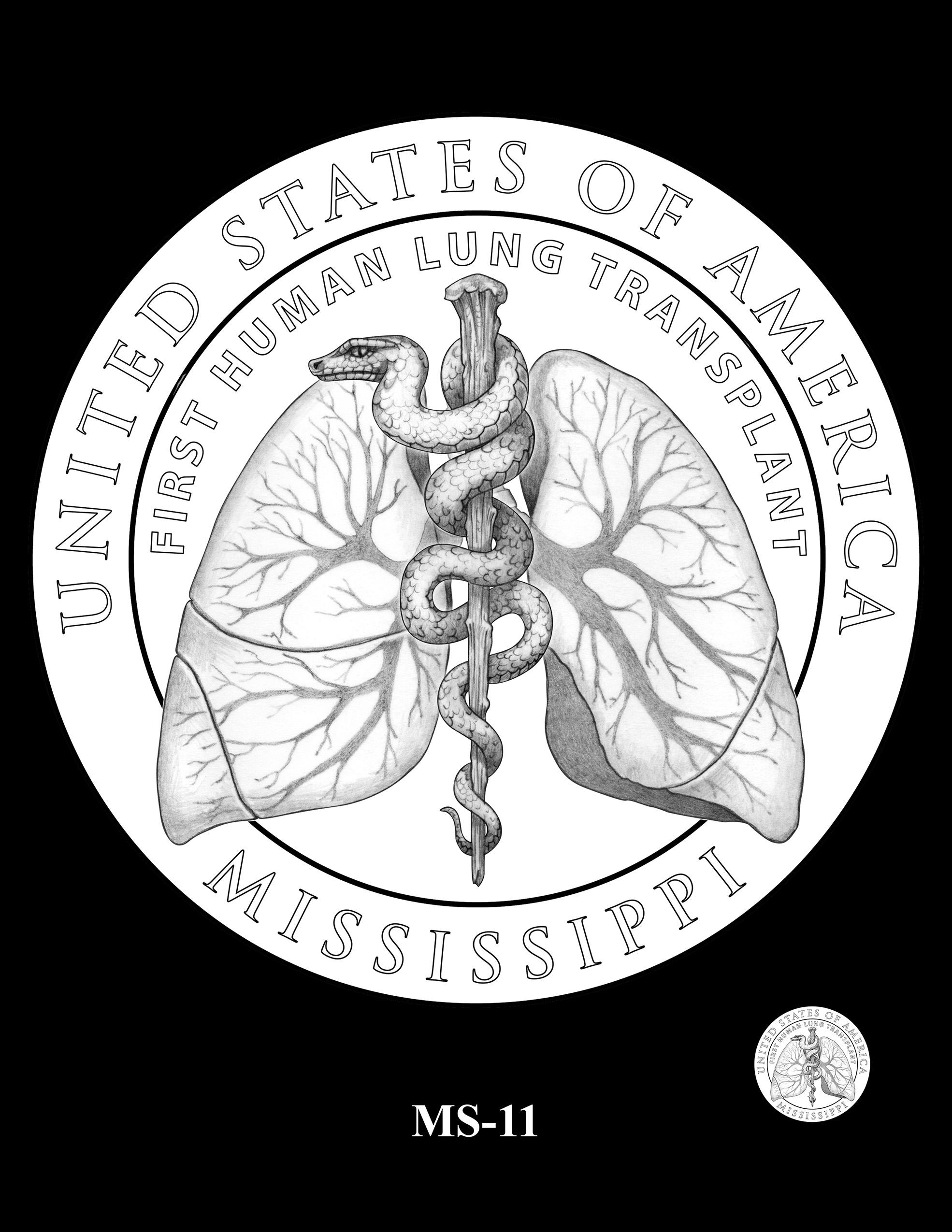 MS-11 -- 2023 American Innovation $1 Coin Program - Mississippi