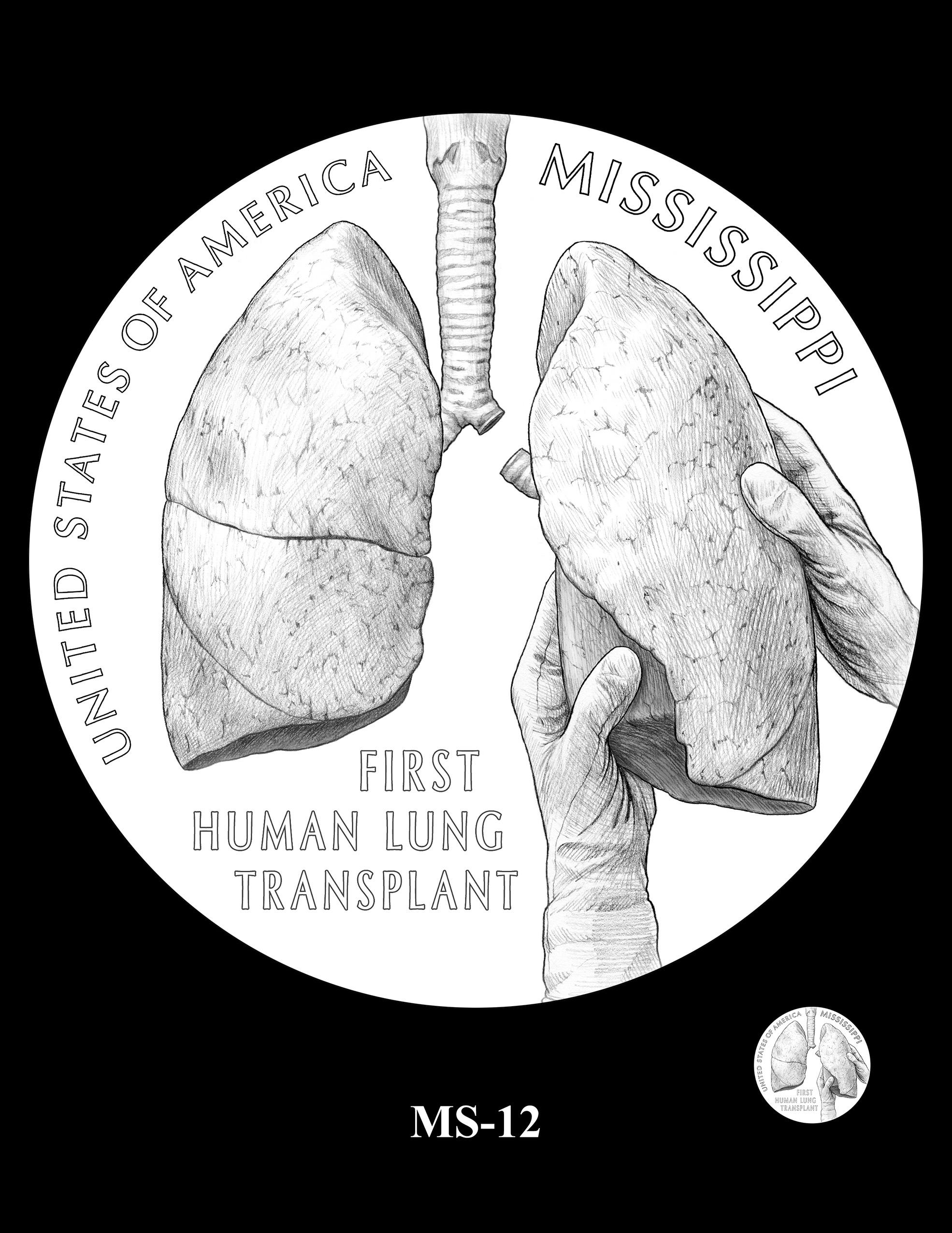 MS-12 -- 2023 American Innovation $1 Coin Program - Mississippi