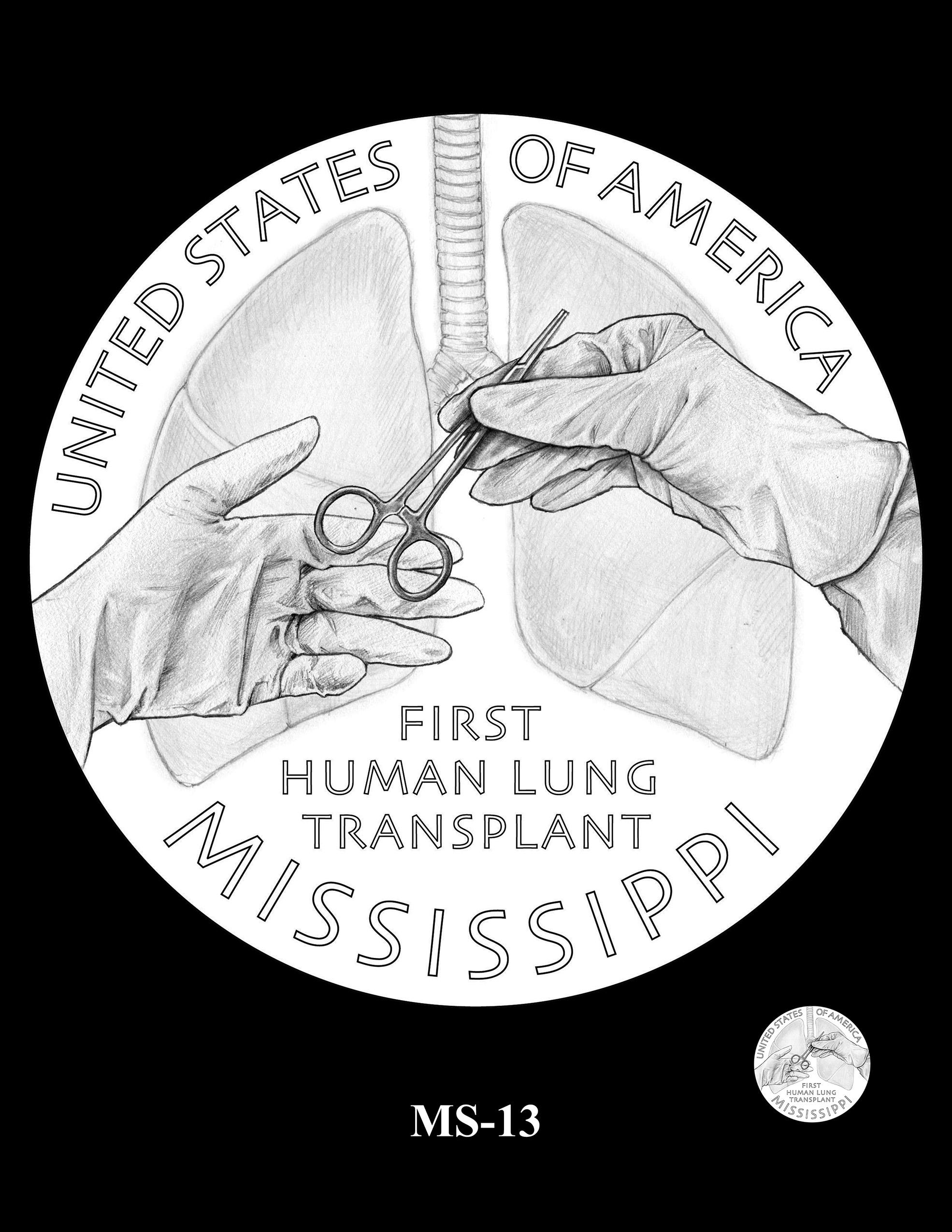 MS-13 -- 2023 American Innovation $1 Coin Program - Mississippi