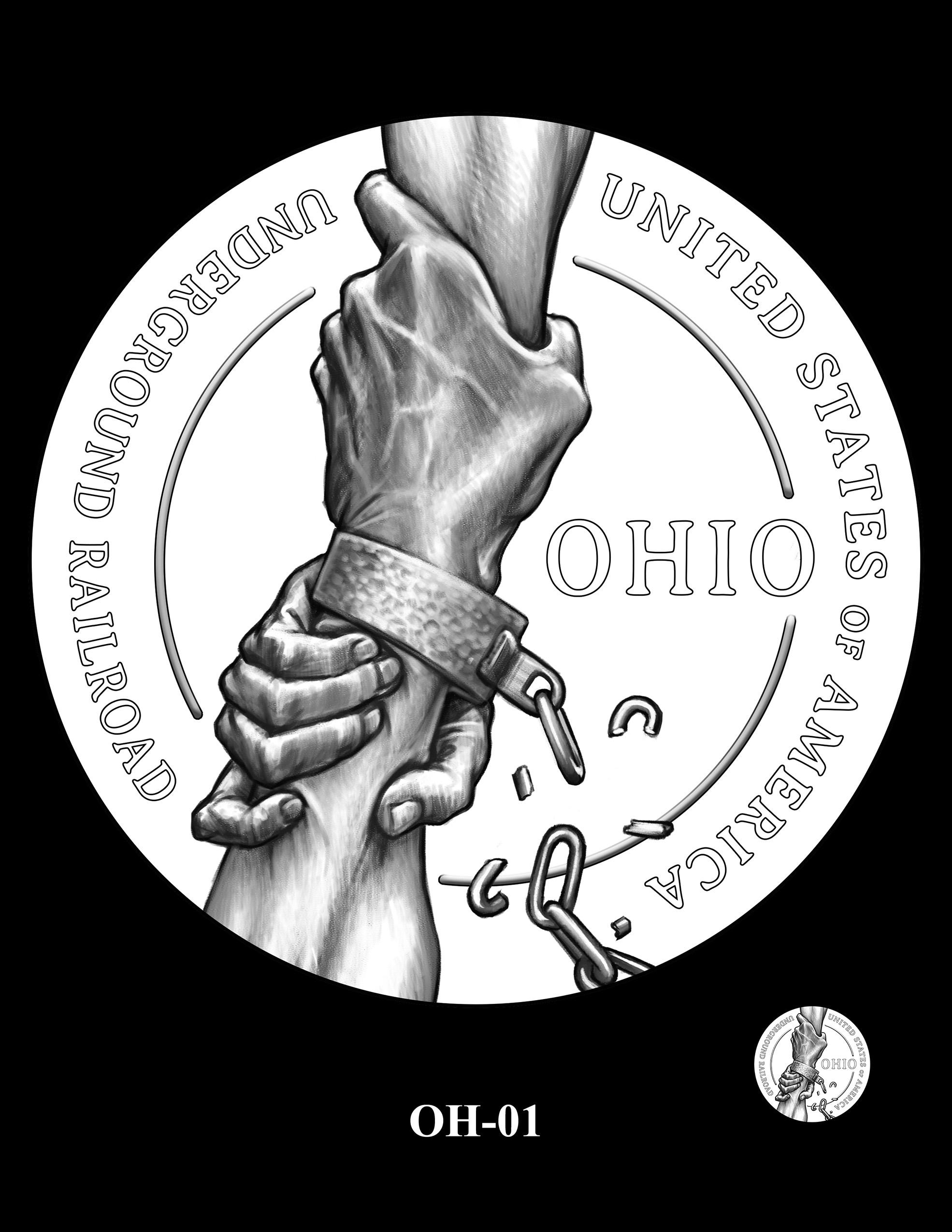 OH-01 -- 2023 American Innovation $1 Coin Program - Ohio