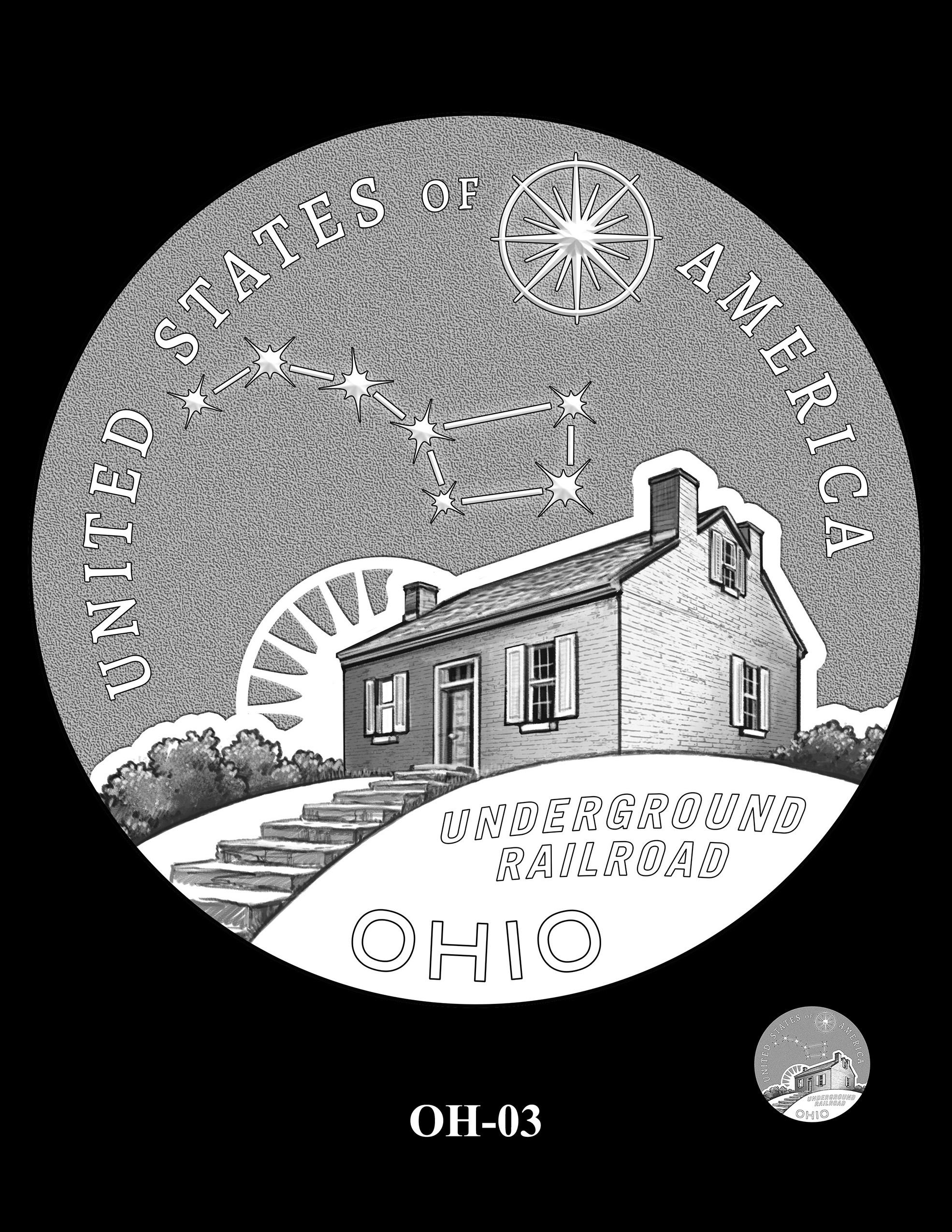 OH-03 -- 2023 American Innovation $1 Coin Program - Ohio