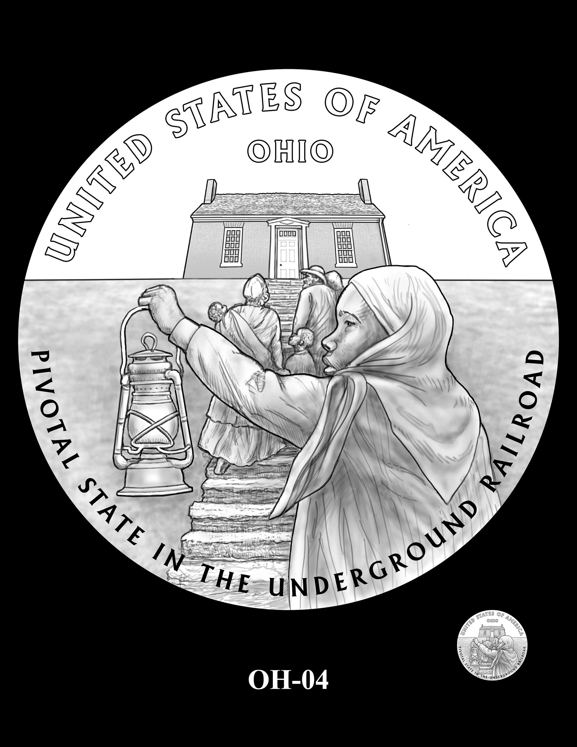 OH-04 -- 2023 American Innovation $1 Coin Program - Ohio