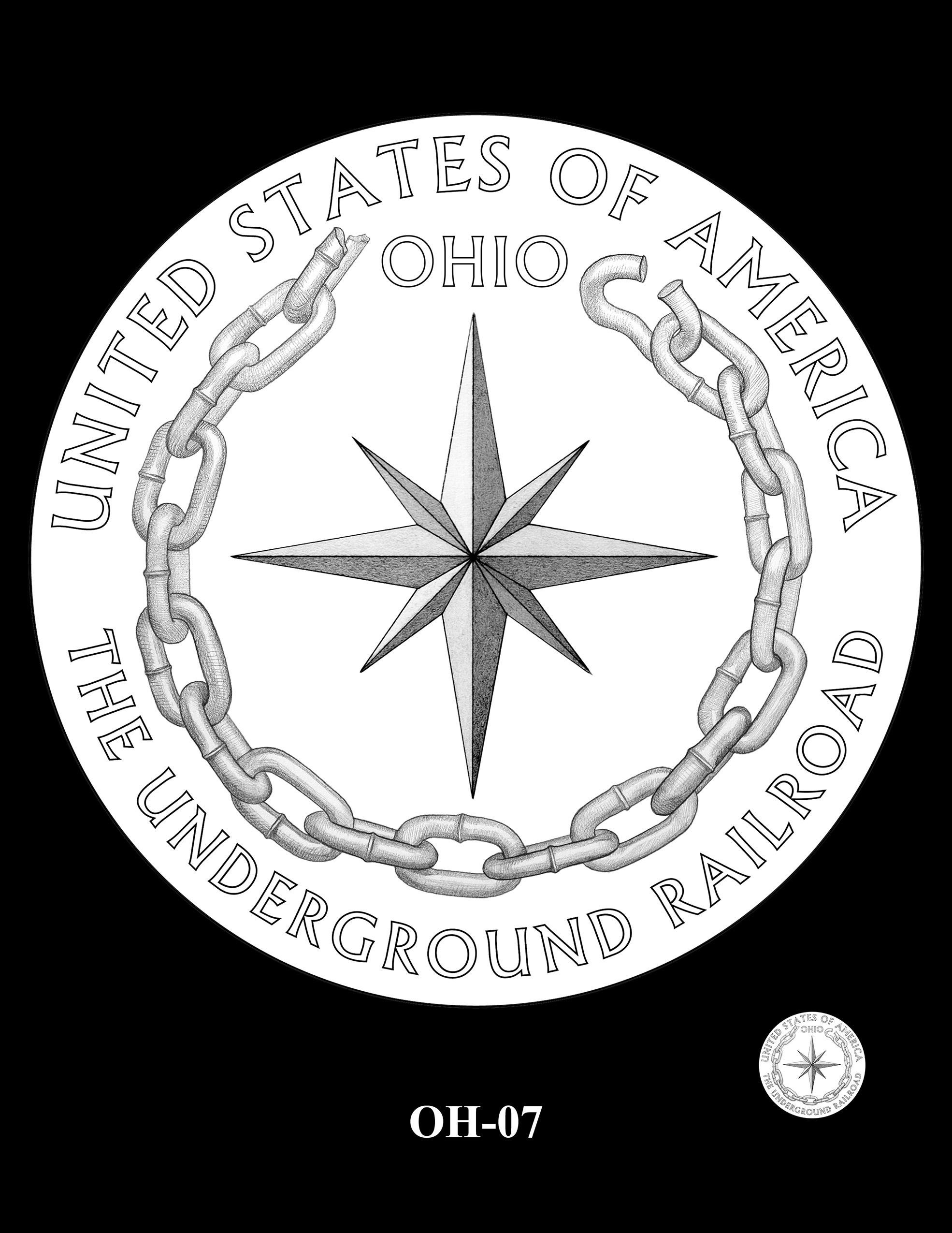OH-07 -- 2023 American Innovation $1 Coin Program - Ohio
