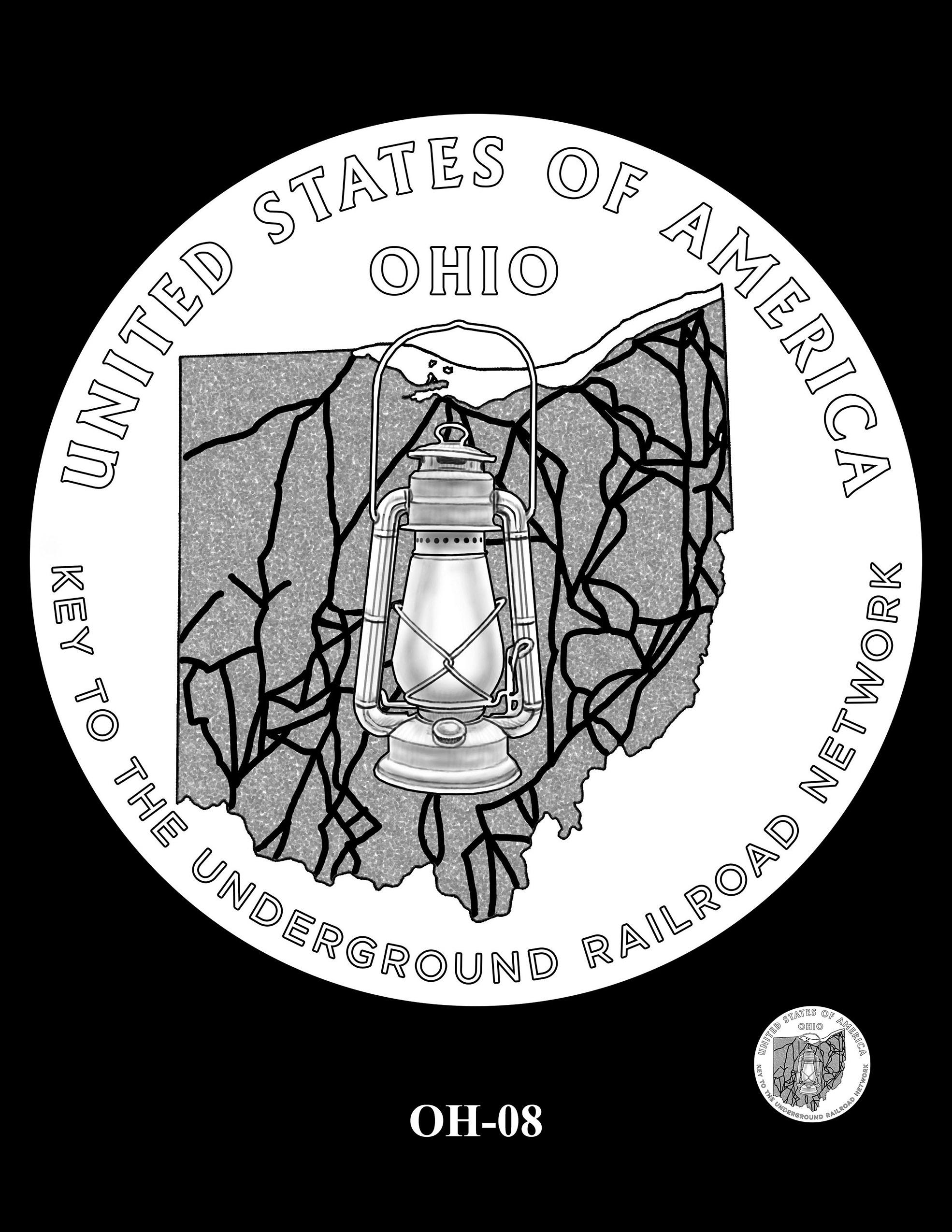OH-08 -- 2023 American Innovation $1 Coin Program - Ohio