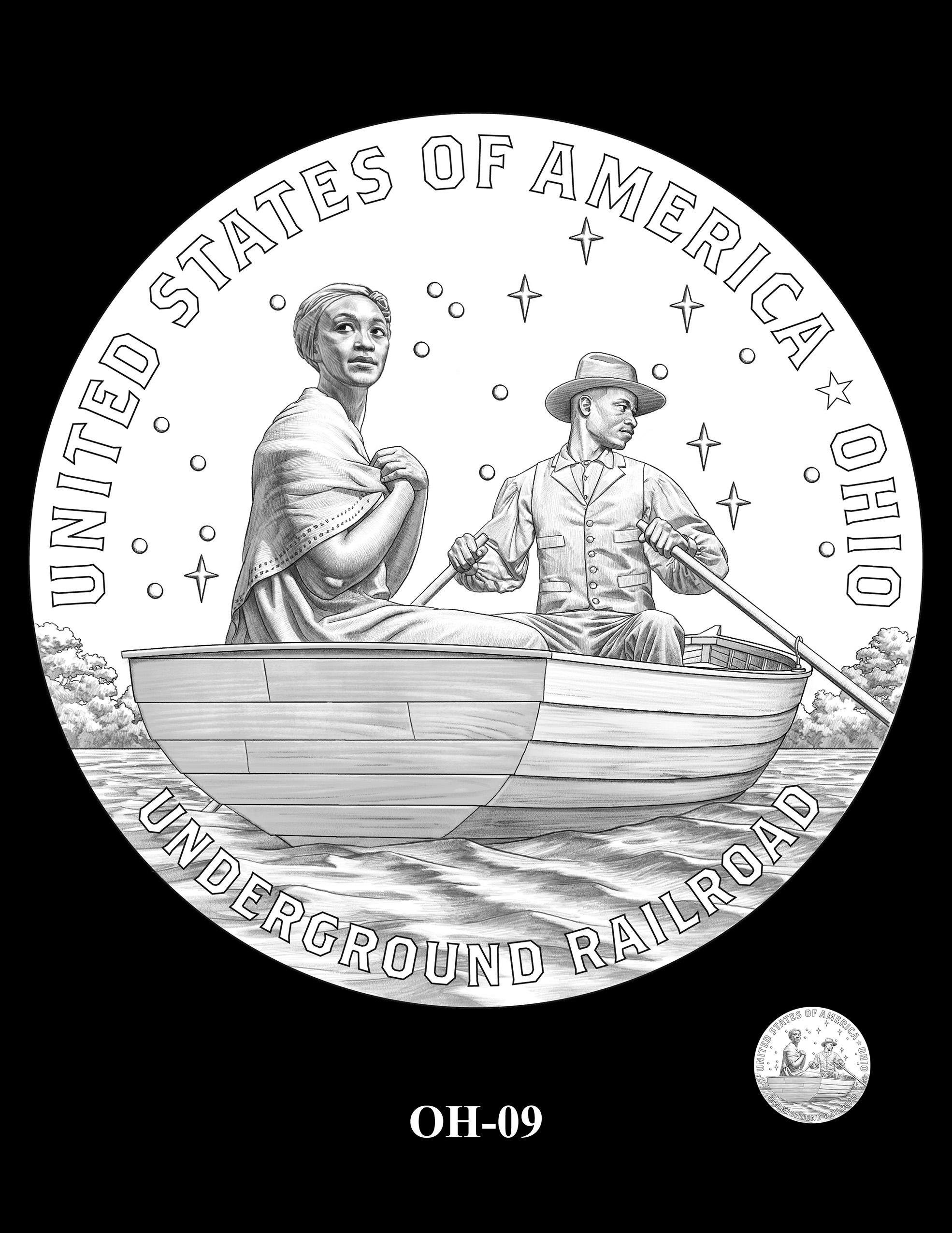 OH-09 -- 2023 American Innovation $1 Coin Program - Ohio