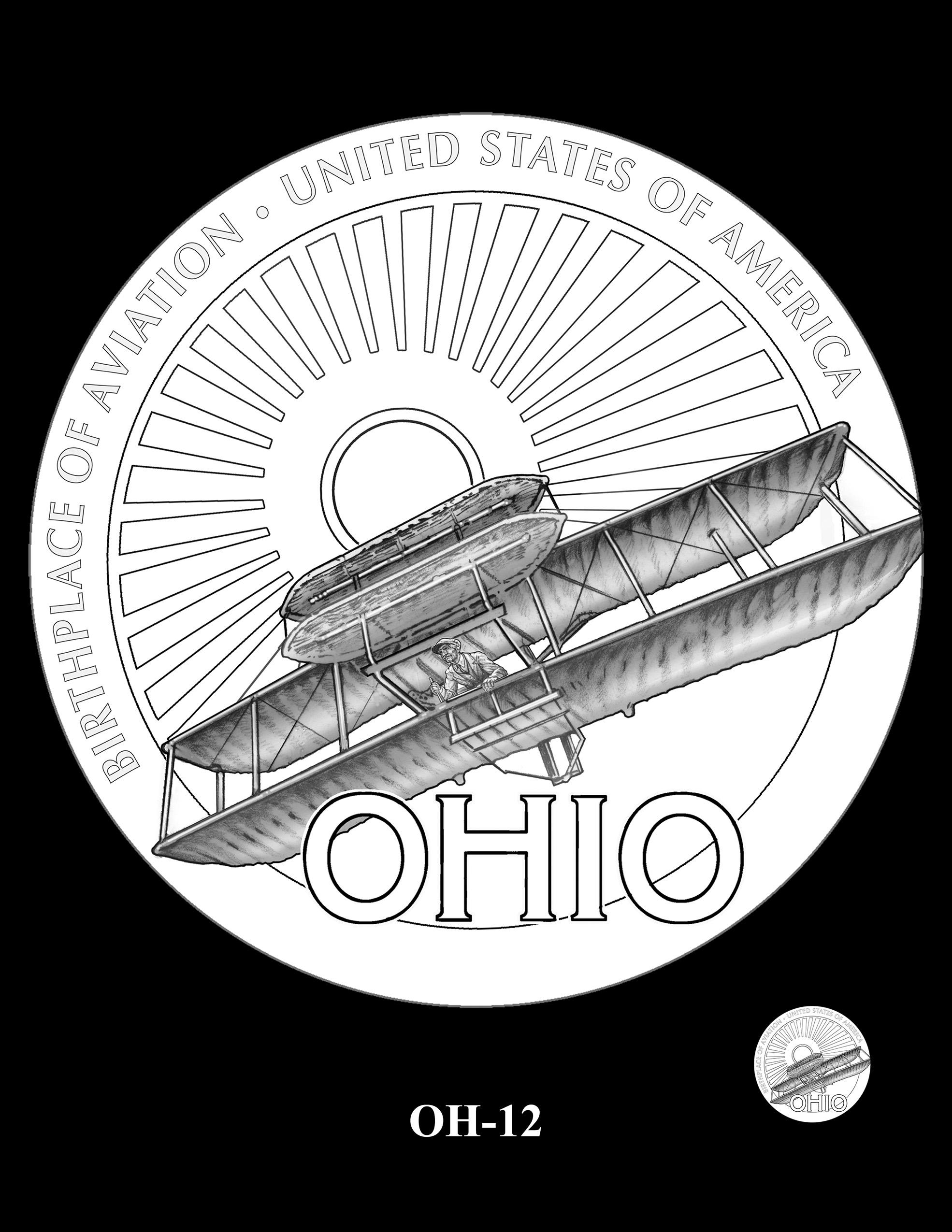 OH-12 -- 2023 American Innovation $1 Coin Program - Ohio