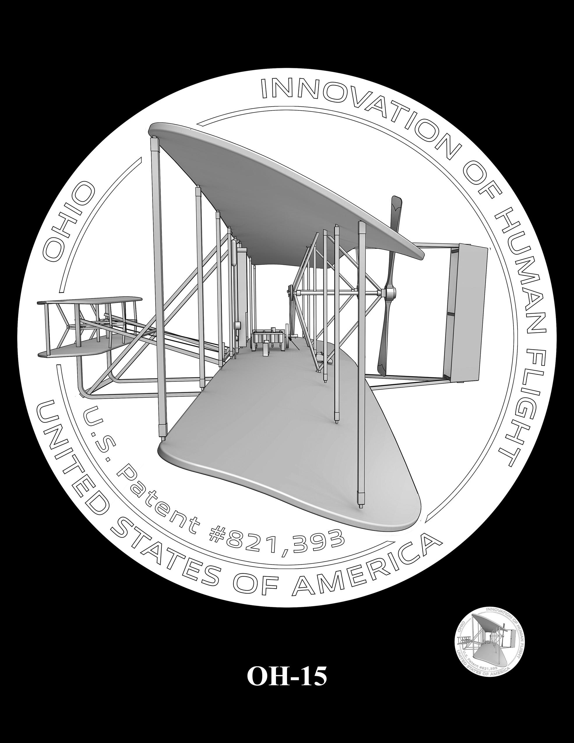 OH-15 -- 2023 American Innovation $1 Coin Program - Ohio