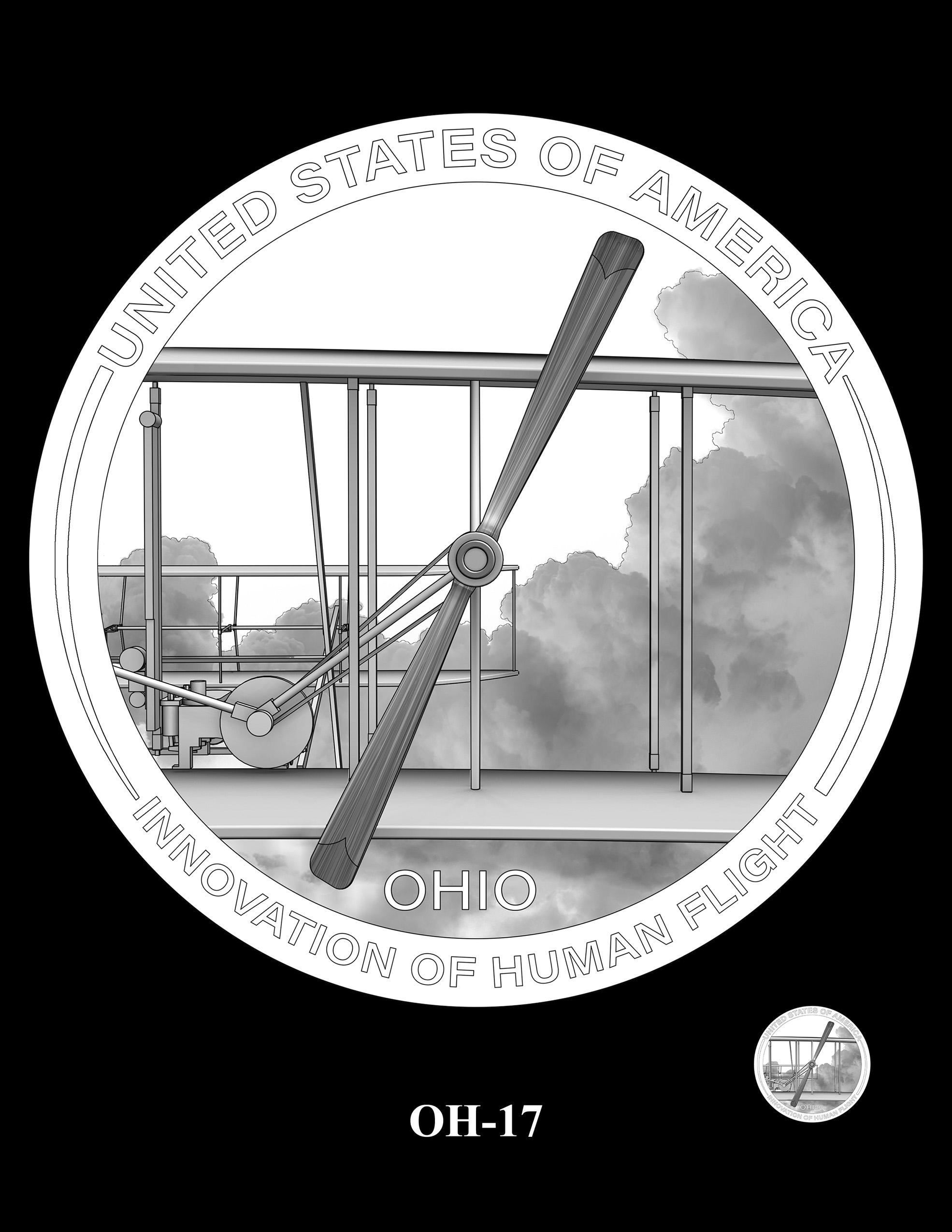 OH-17 -- 2023 American Innovation $1 Coin Program - Ohio