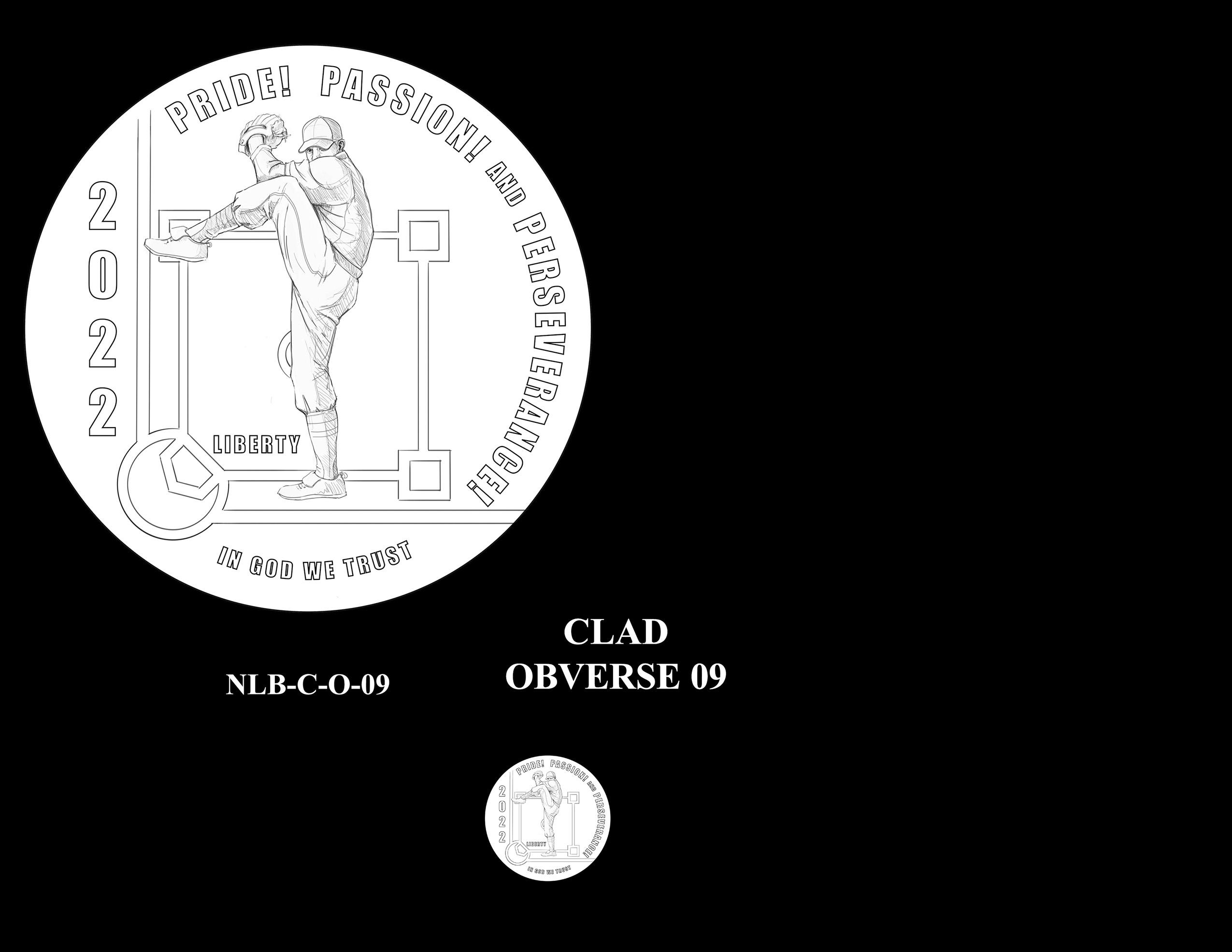 Clad Pair 09 -- Negro Leagues Baseball Commemorative Coin Program