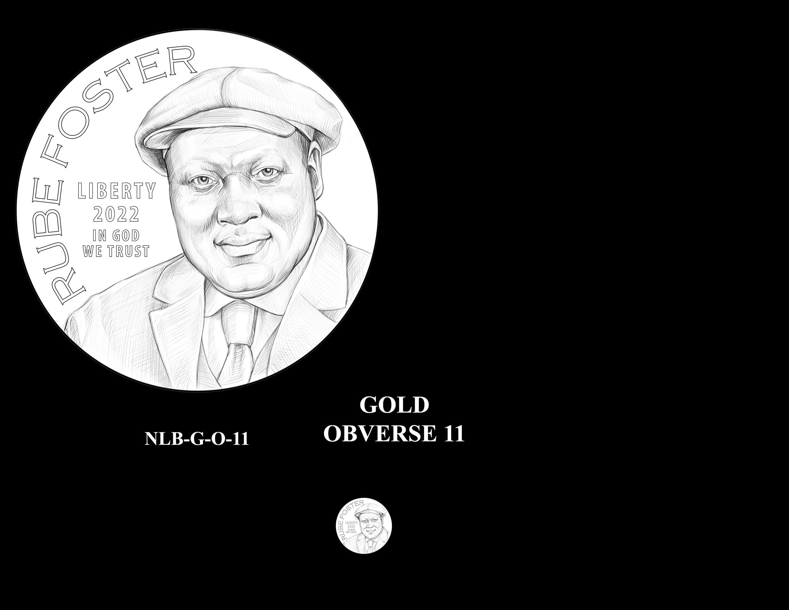 Gold Pair 11 -- Negro Leagues Baseball Commemorative Coin Program