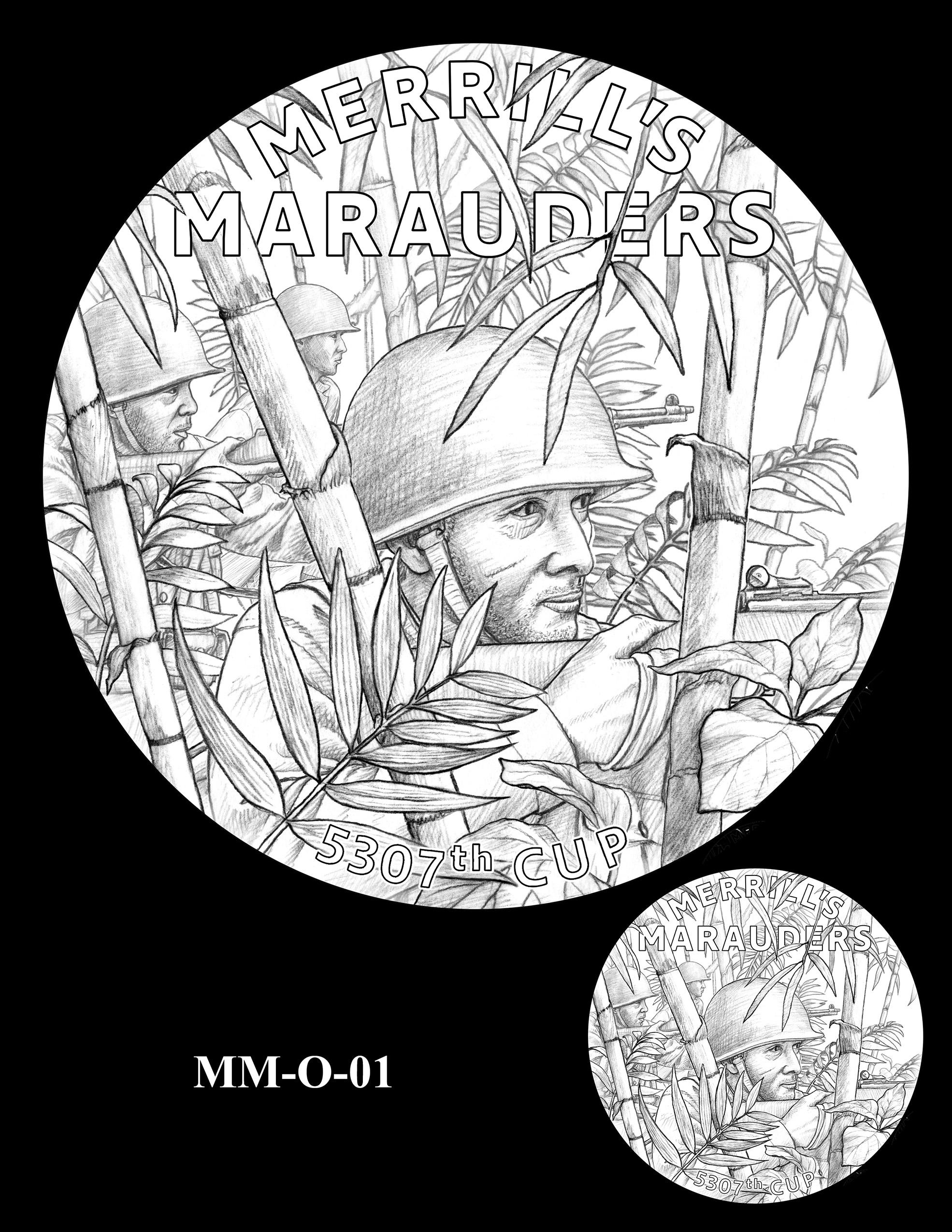 MM-O-01 -- Merrill's Marauders Congressional Gold Medal