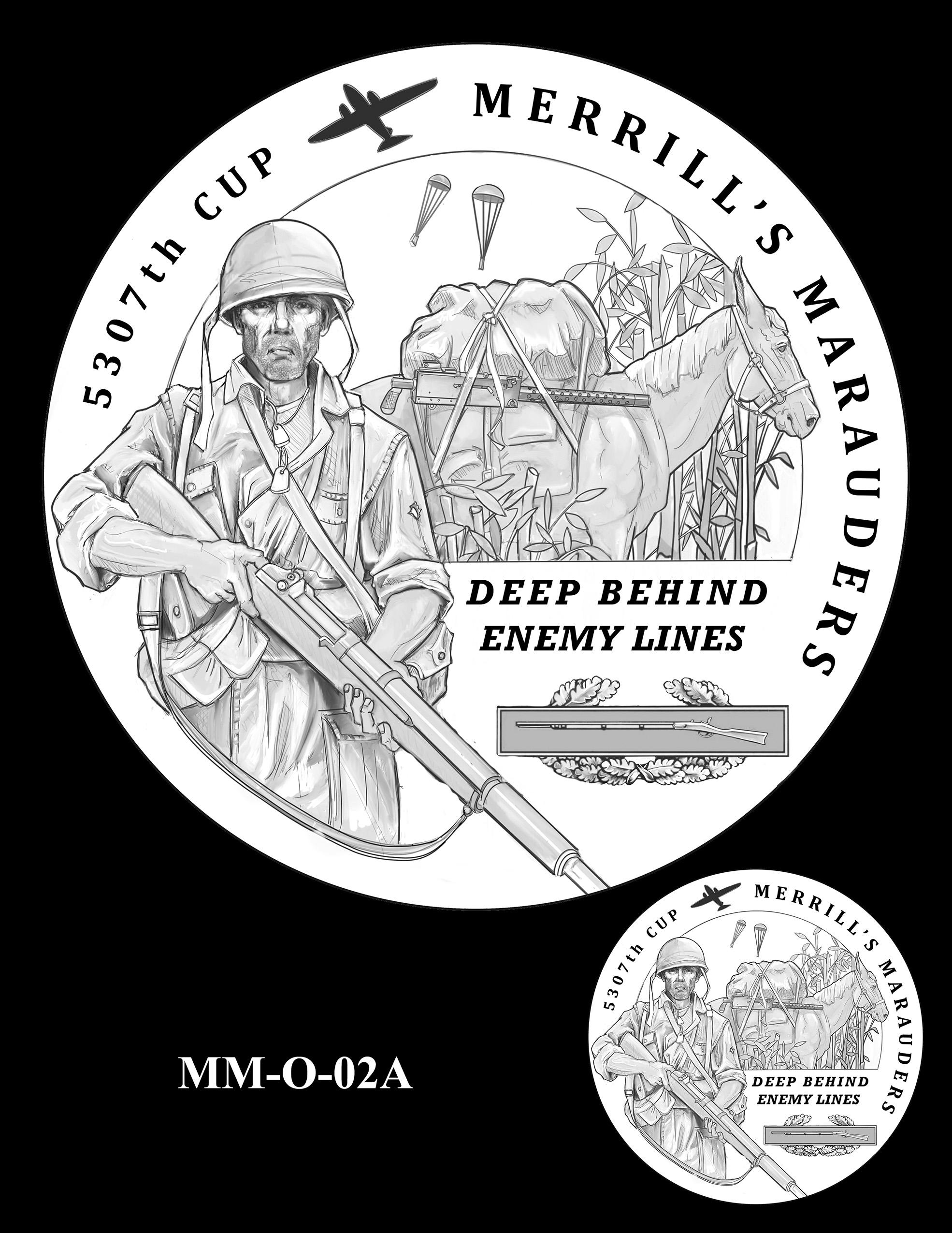 MM-O-02A -- Merrill's Marauders Congressional Gold Medal