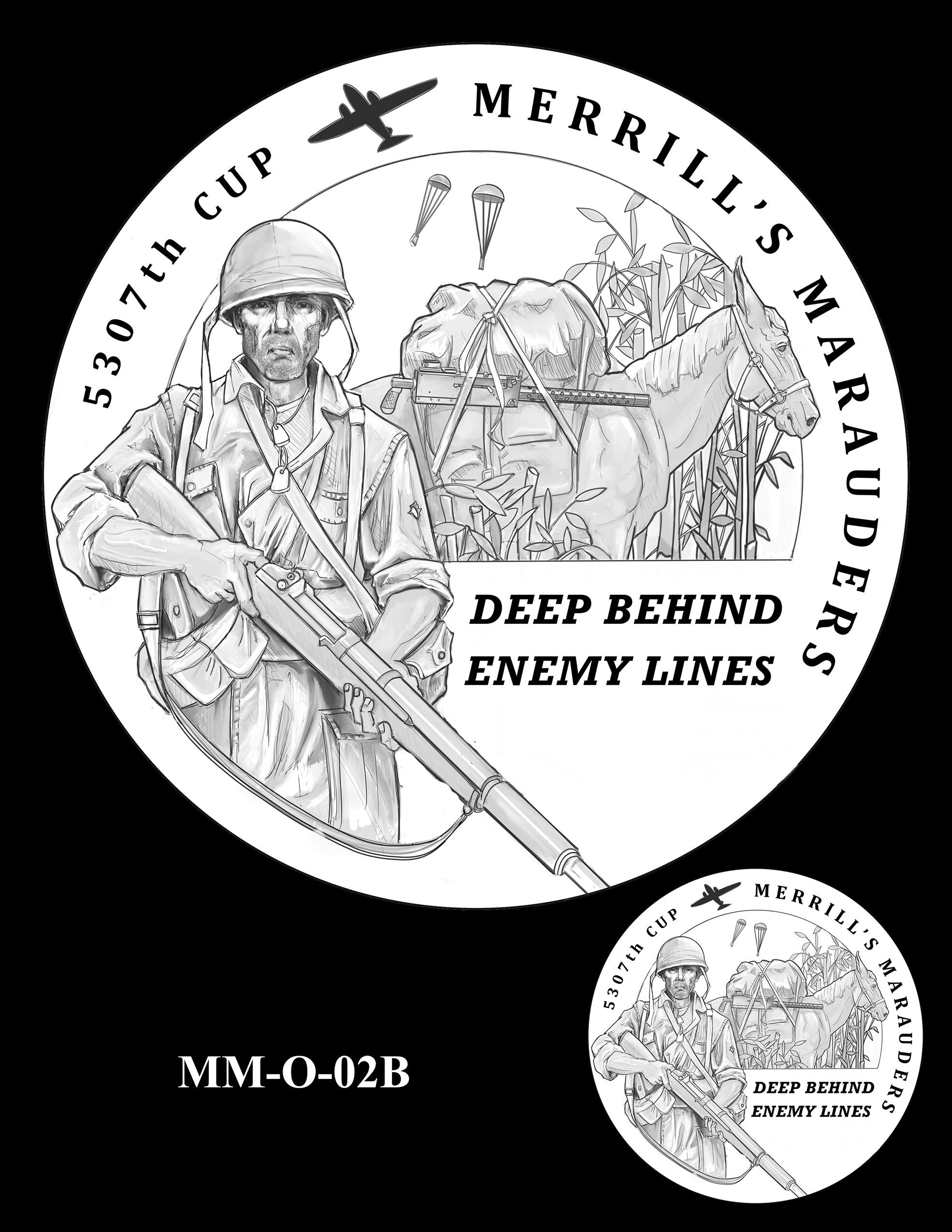 MM-O-02B -- Merrill's Marauders Congressional Gold Medal